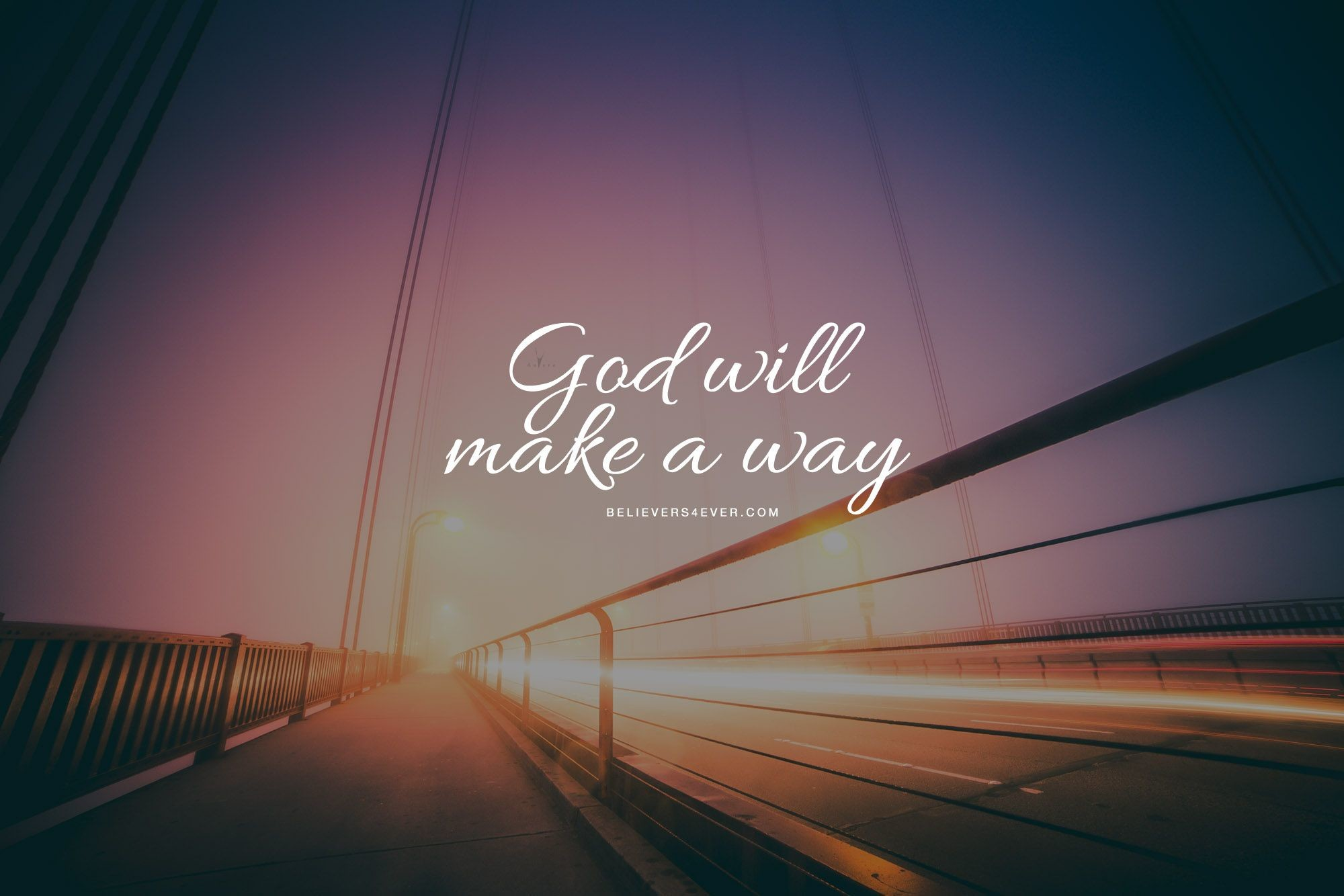 2000x1334 God will make a way. Free #Christian desktop HD #wallpaper and Christian  backgrounds for your personal use with #bible verse.