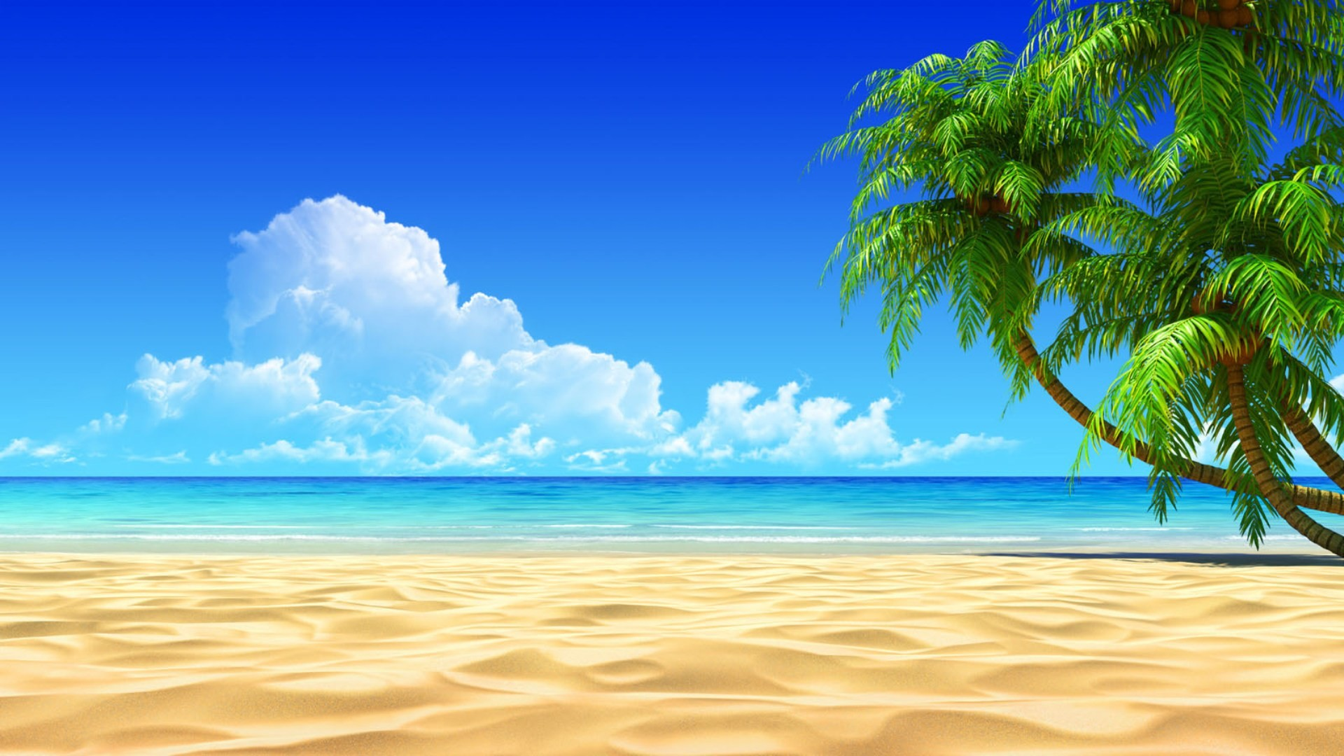 1920x1080 Free Beach Screensavers