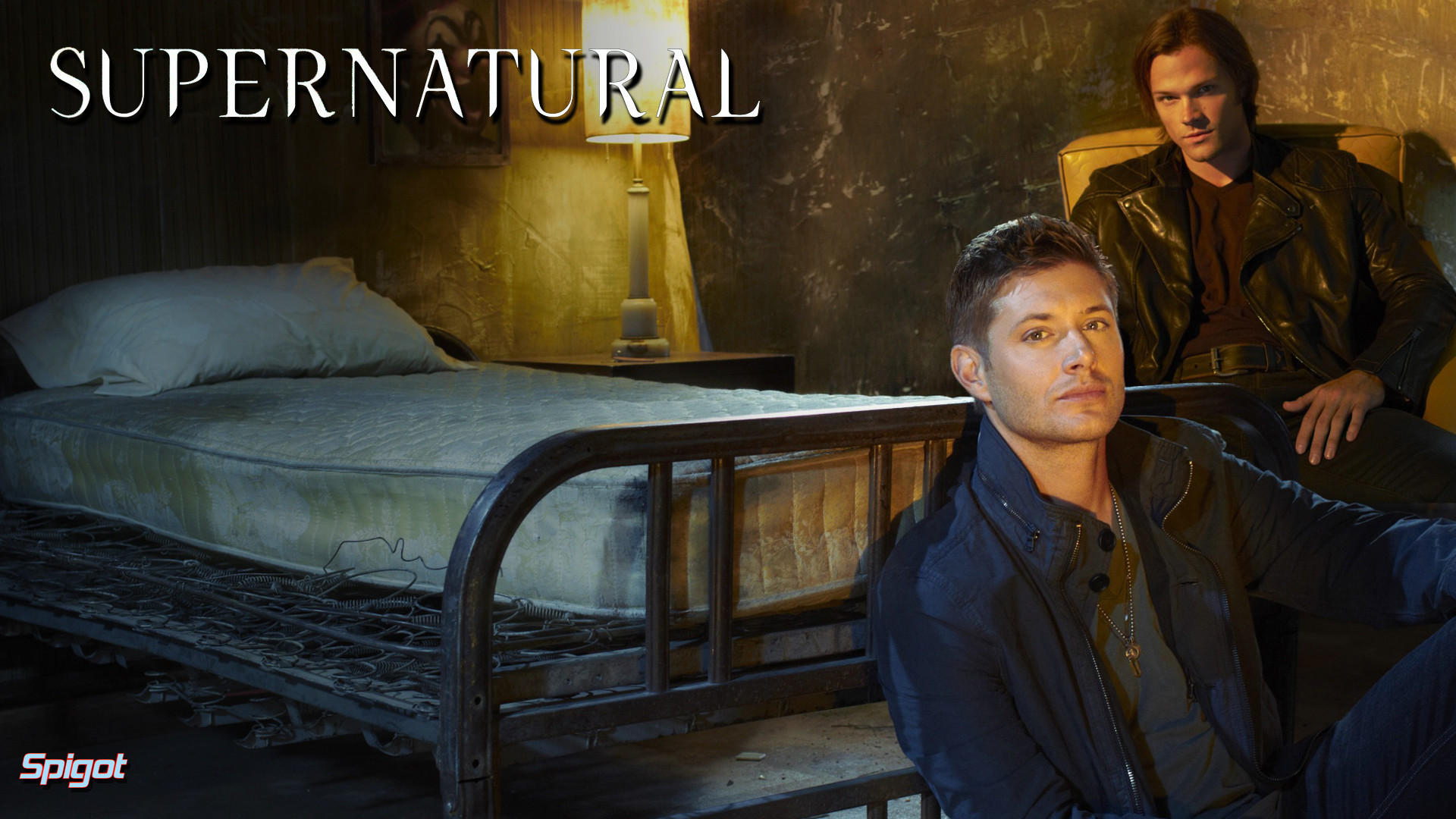 1920x1080 Here's a new wallpaper I did for the fantastic show Supernatural staring  Jared Padalecki (Sam Winchester) & Jensen Ackles (Dean Winchester), this  show just ...