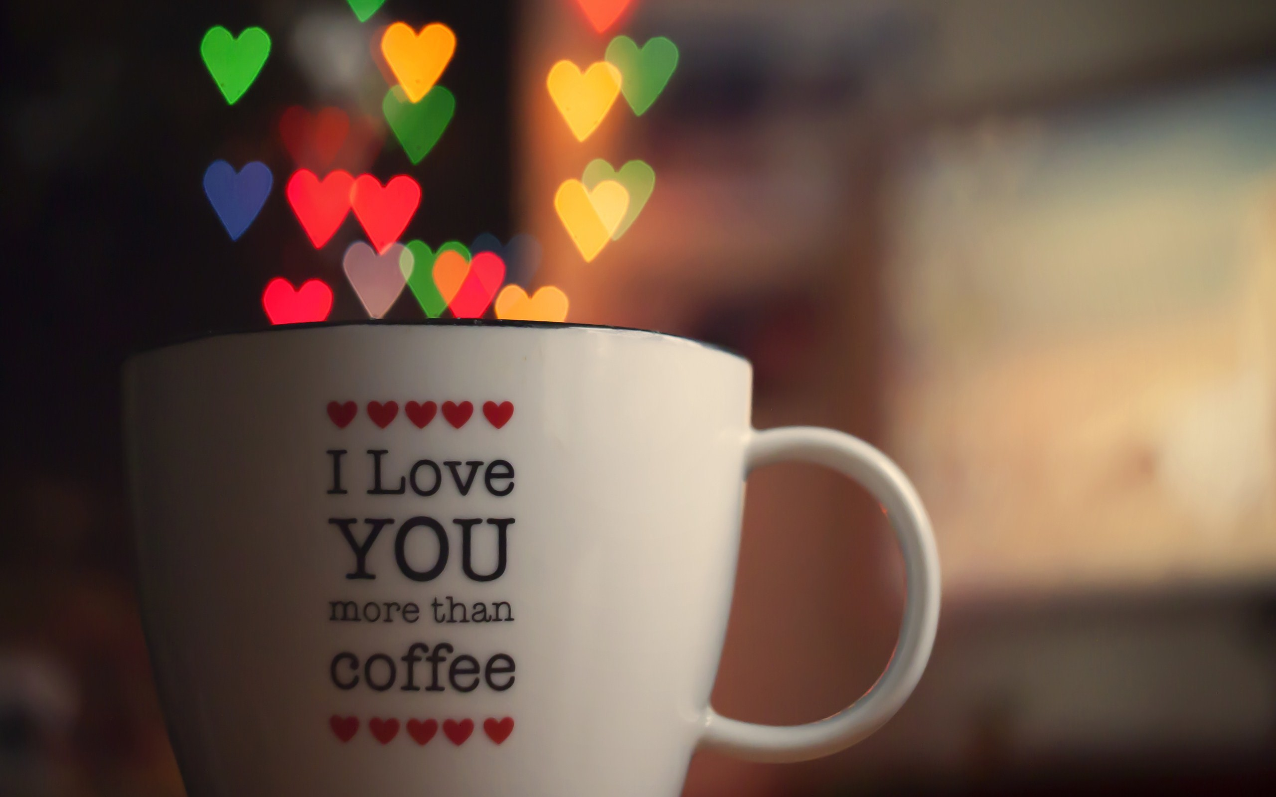 2560x1600 I Love You Words Cup Hearts Photo HD Wallpaper is a awesome hd photography.  Free
