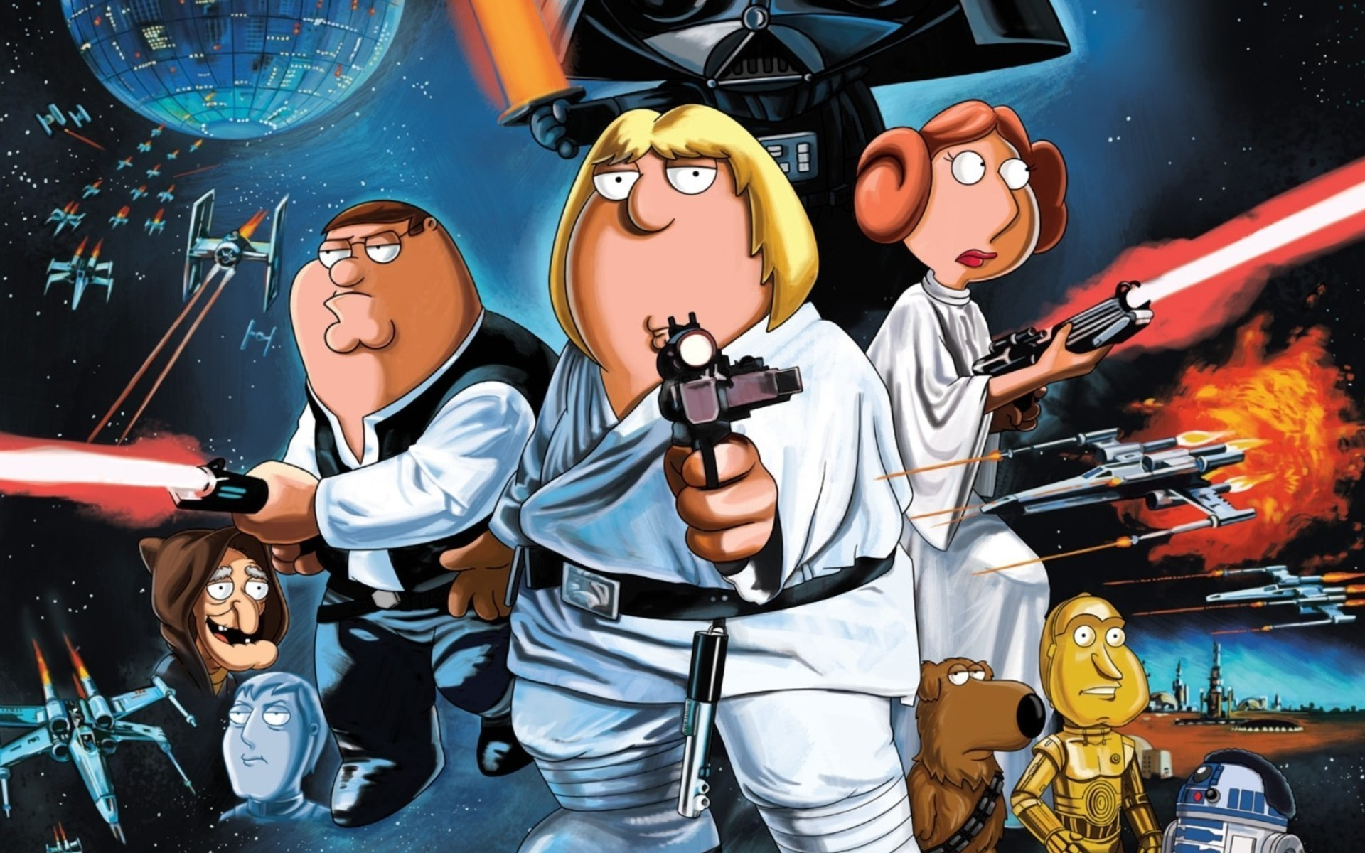 1920x1200 Family Guy images Blue Harvest HD wallpaper and background photos
