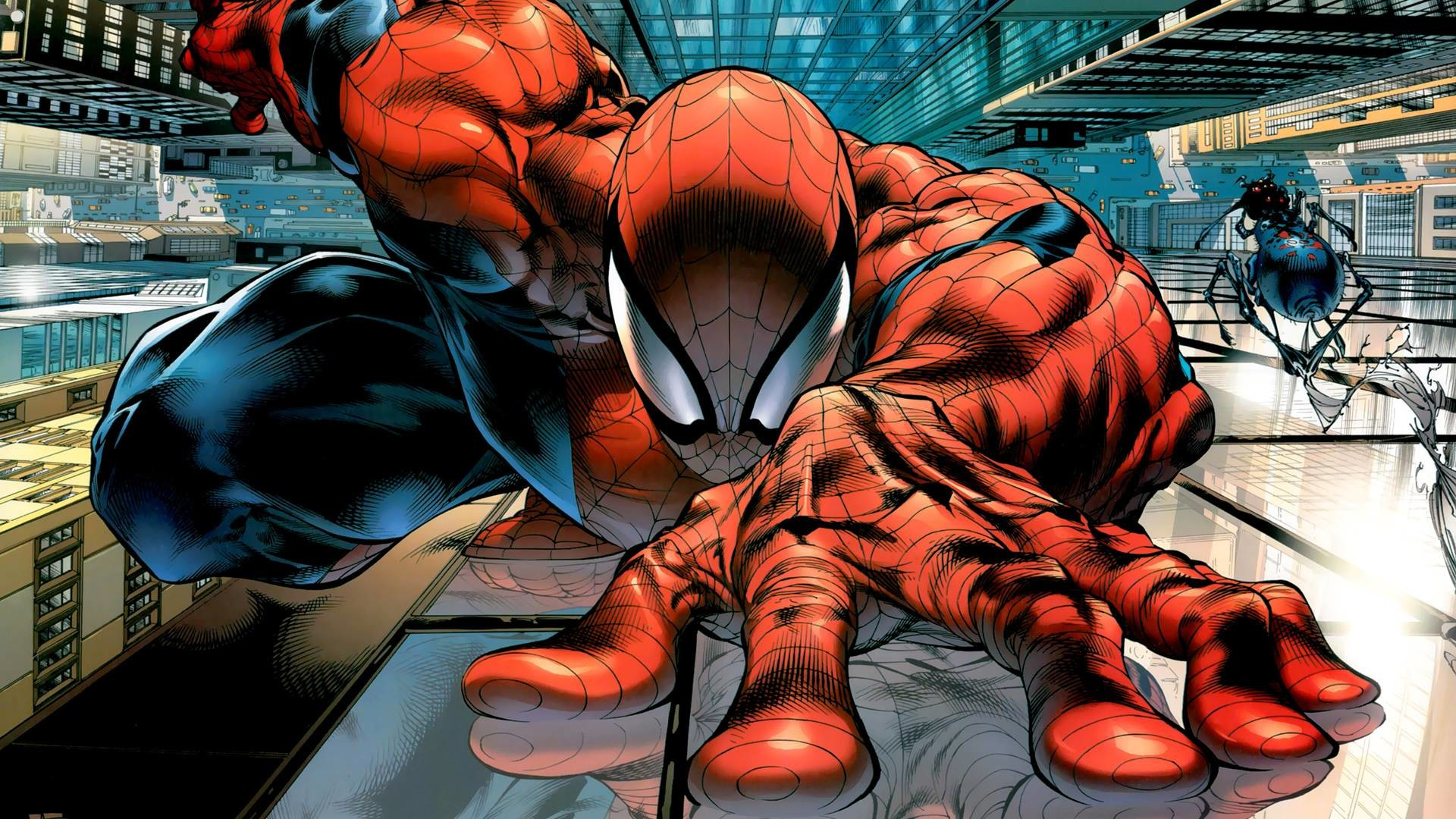 1920x1080 Amazing Spiderman HD wallpaper from Marvel