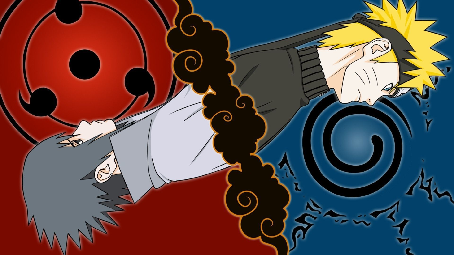 1920x1080 Naruto Uzumaki Sasuke Uchiha HD Wallpapers A Naruto Sasuke Wallpapers