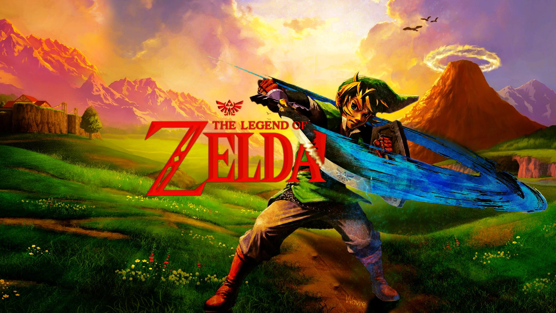 Legend Of Zelda Wallpaper 1920x1080: The Legend Of Zelda Wallpaper (79+ Images