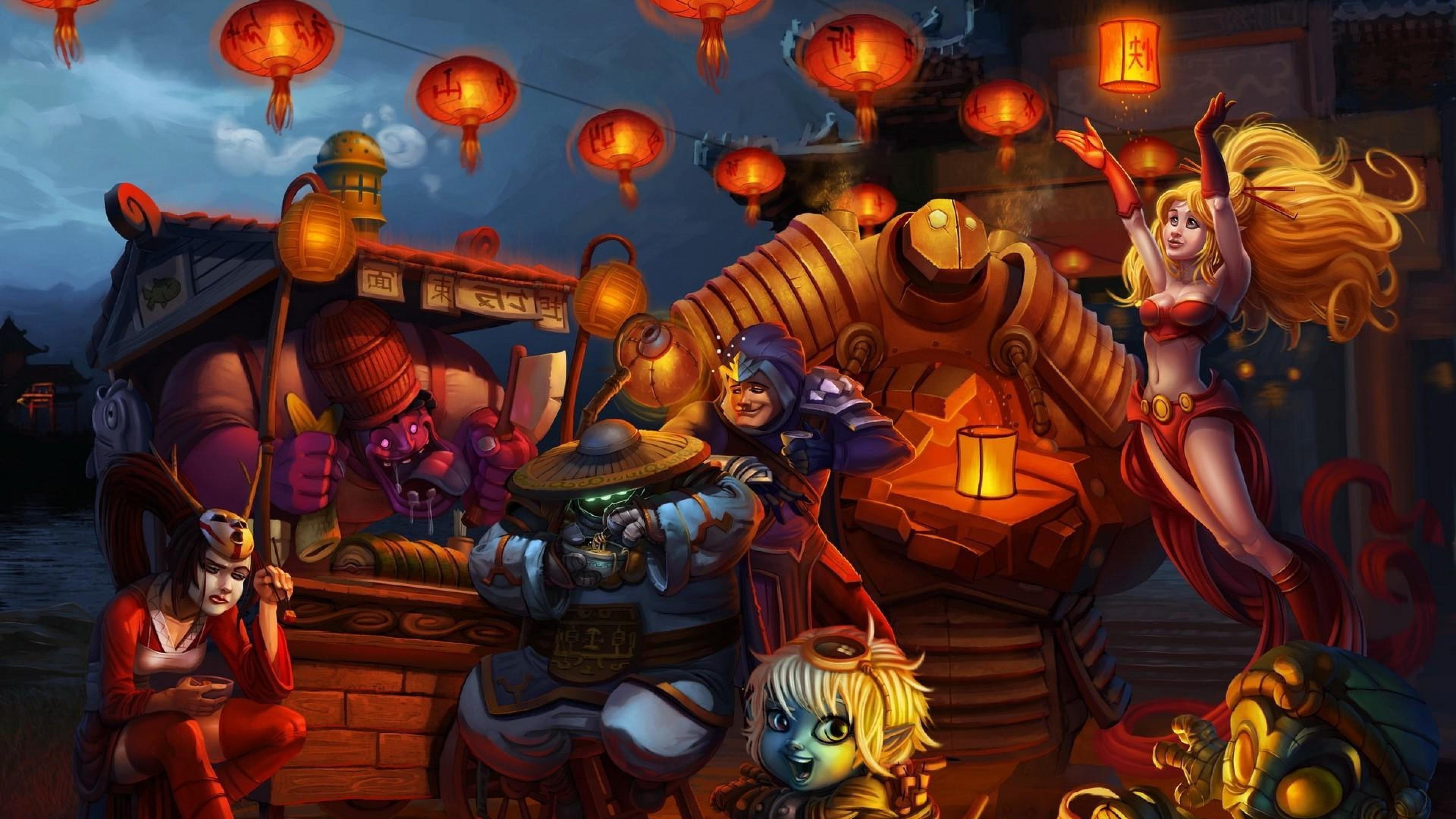 Blitzcrank League Of Legends Hd Wallpaper: Dr Mundo Wallpaper (78+ Images