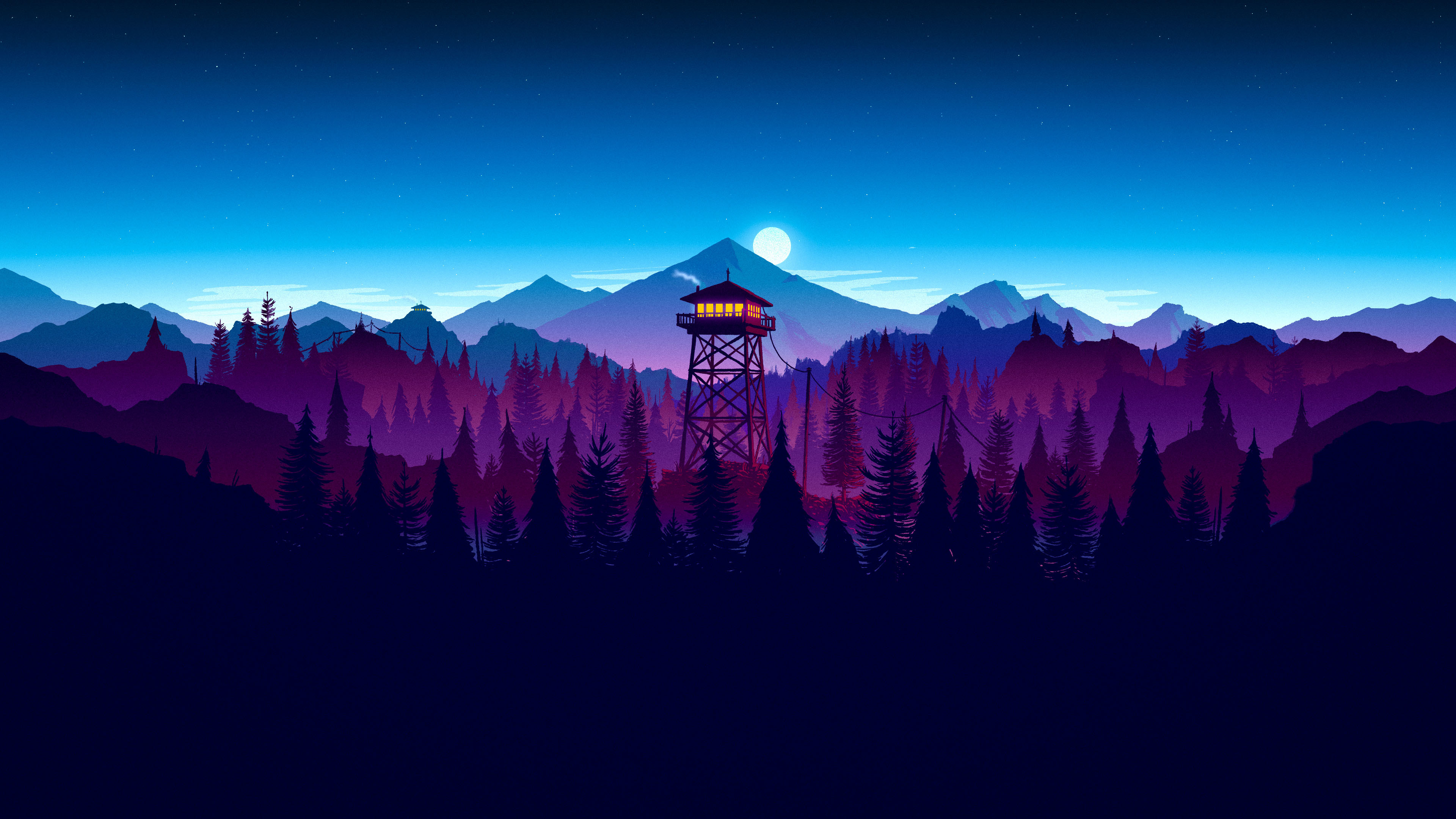3840x2160 firewatch-night-widescreen-wallpaper-59155-60939-hd-wallpapers
