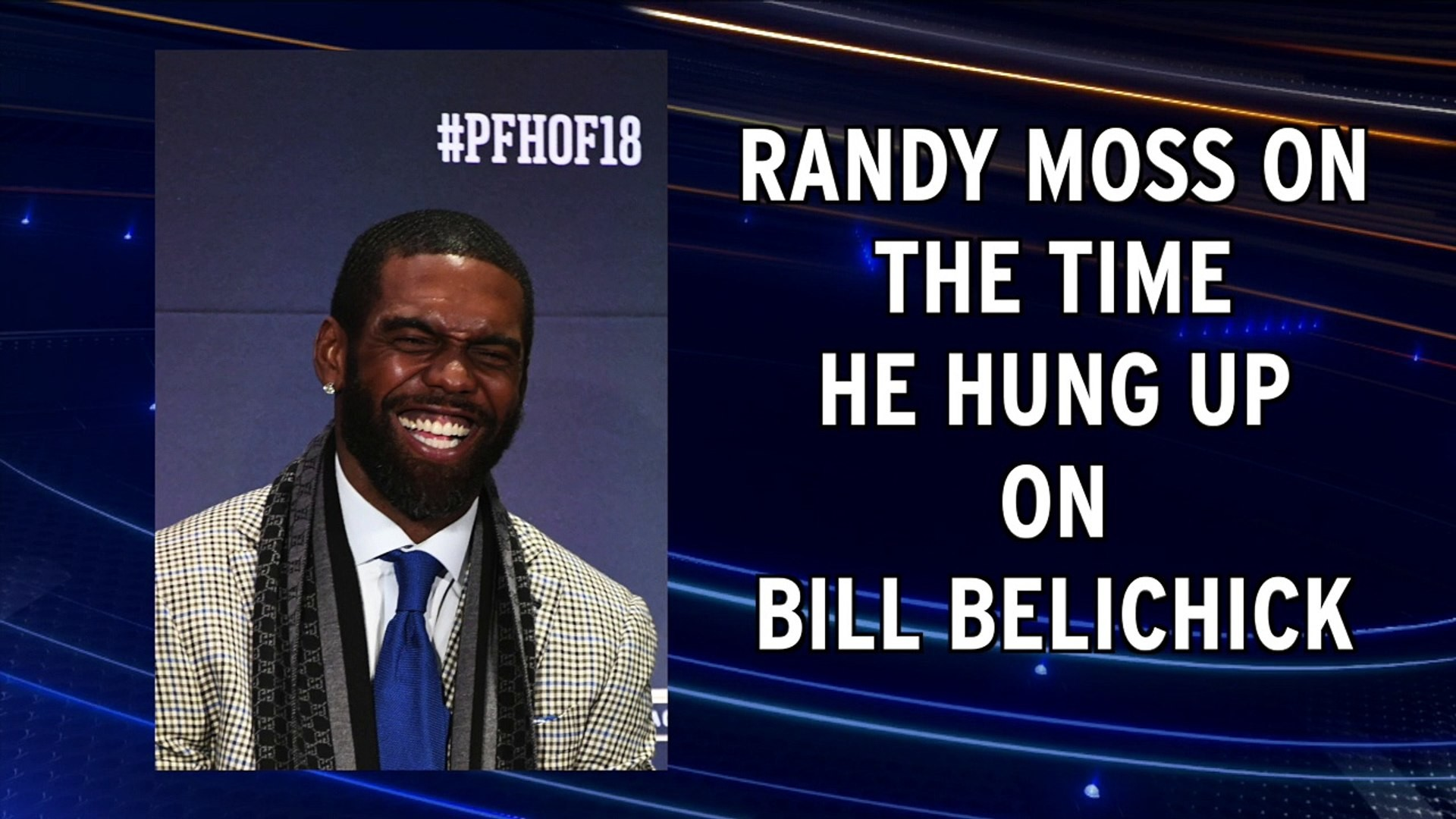1920x1080 Randy Moss tells story about hanging up on Bill Belichick - video  dailymotion