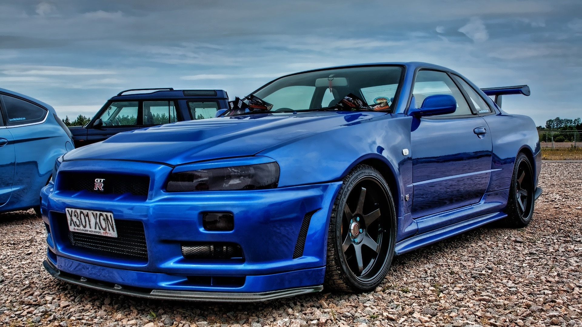 1920x1080 Godzilla (R34 GTR) [] Need #iPhone #6S #Plus #
