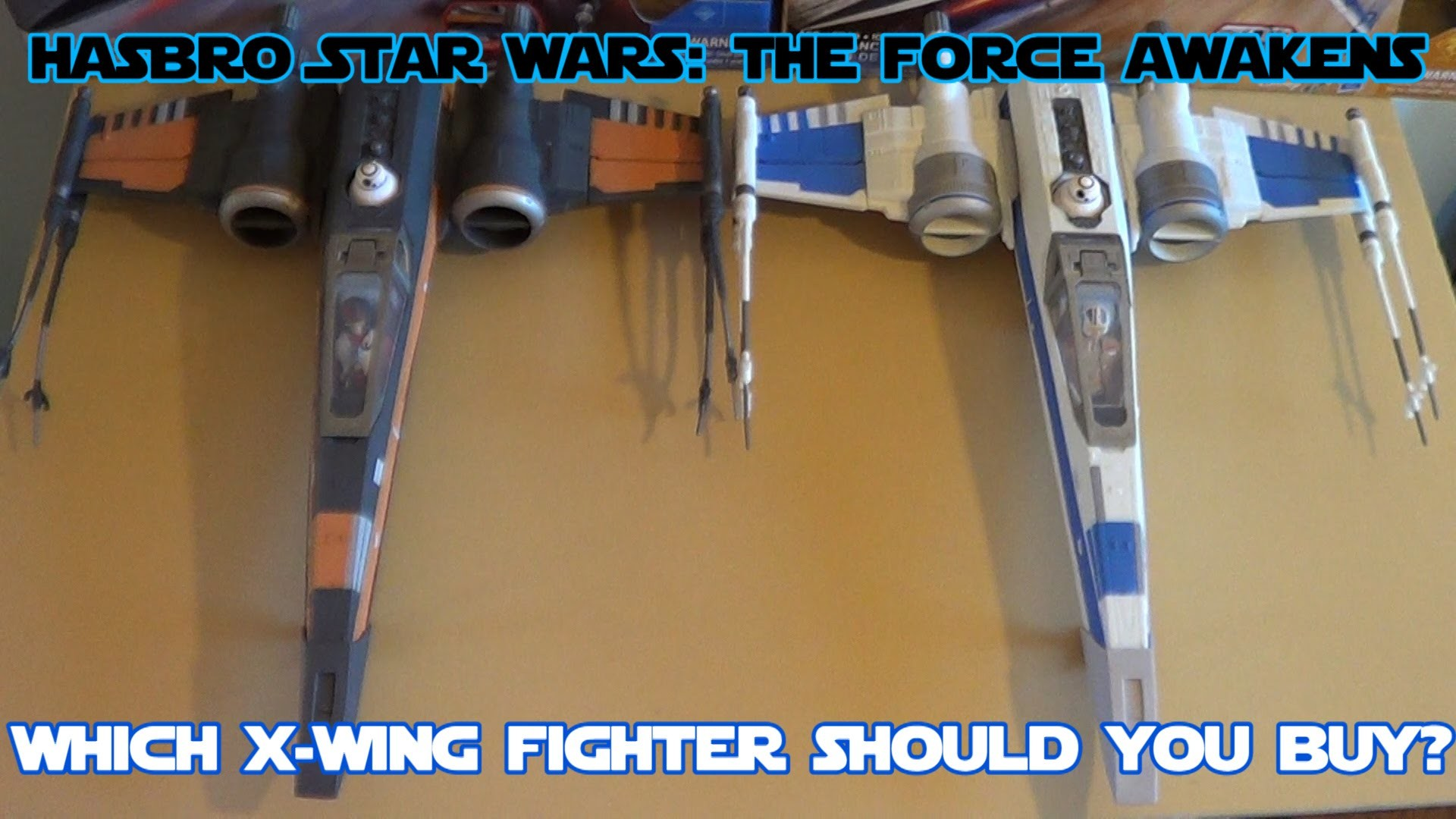 1920x1080 Hasbro Star Wars: The Force Awakens X-Wing Starfighter HD Comparison and  Review - YouTube
