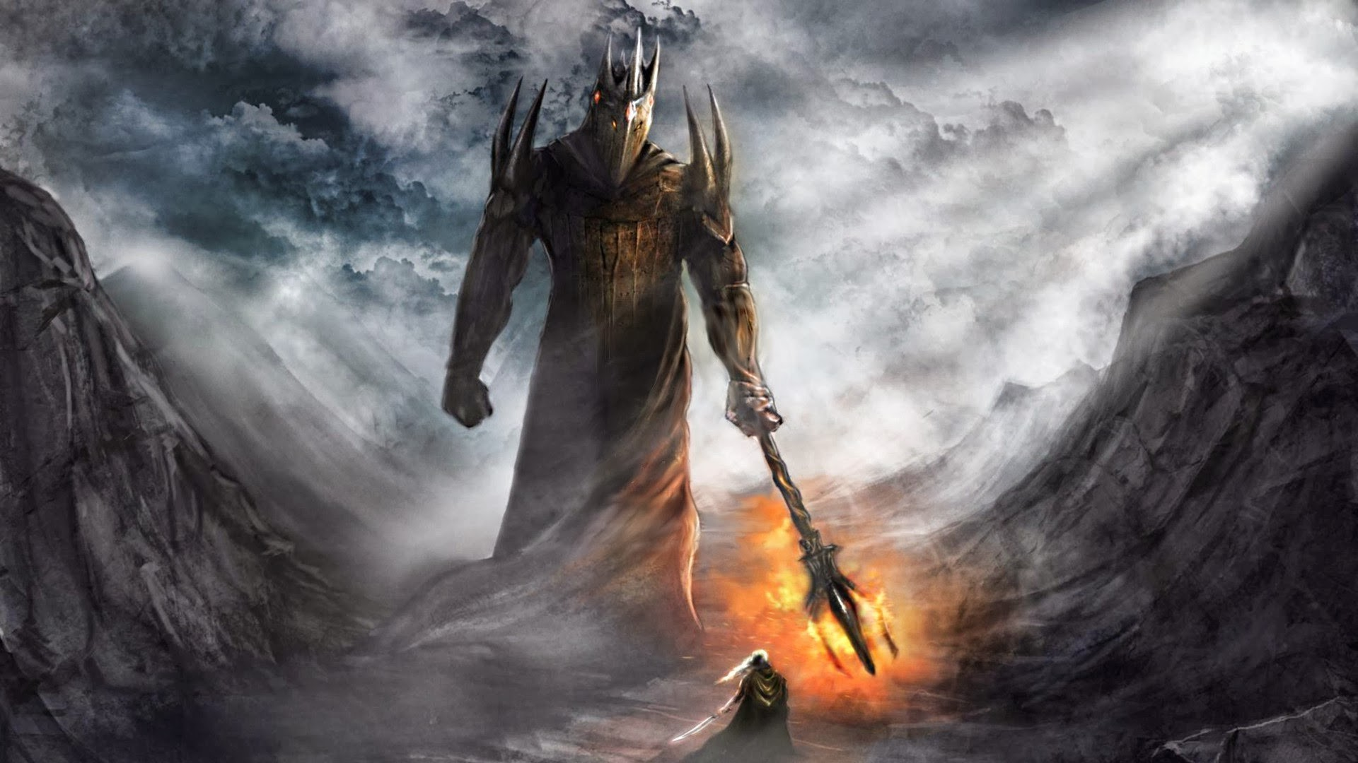 Tolkien wallpaper 78 images 1920x1080 fantasy art the lord of the rings morgoth j r r tolkien wallpapers hd voltagebd Image collections