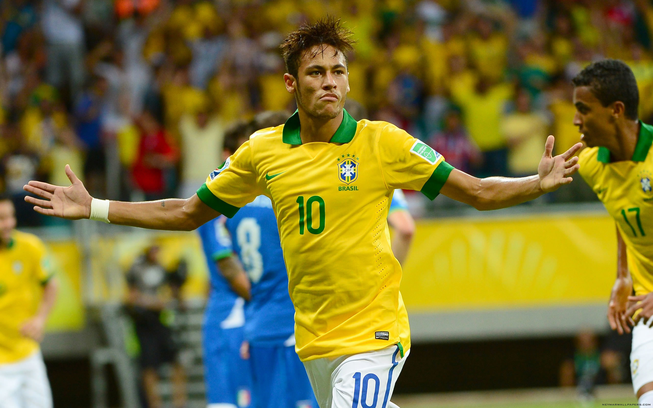 2560x1600 Daniel Alves Neymar will show how special he is in this World Cup 2560×1600