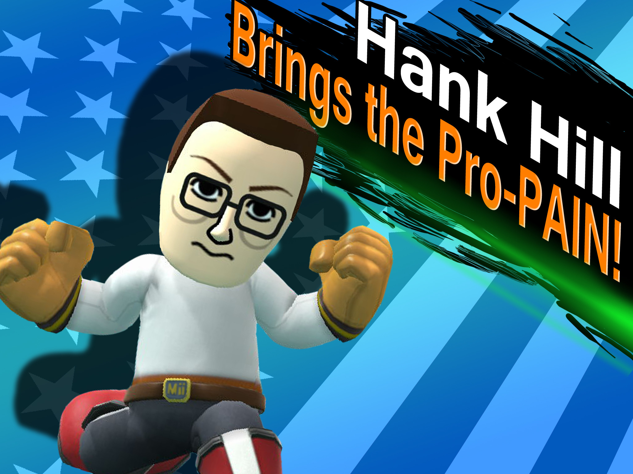 2048x1536 Hank Hill brings the Pro-PAIN! by NickGuillory on DeviantArt