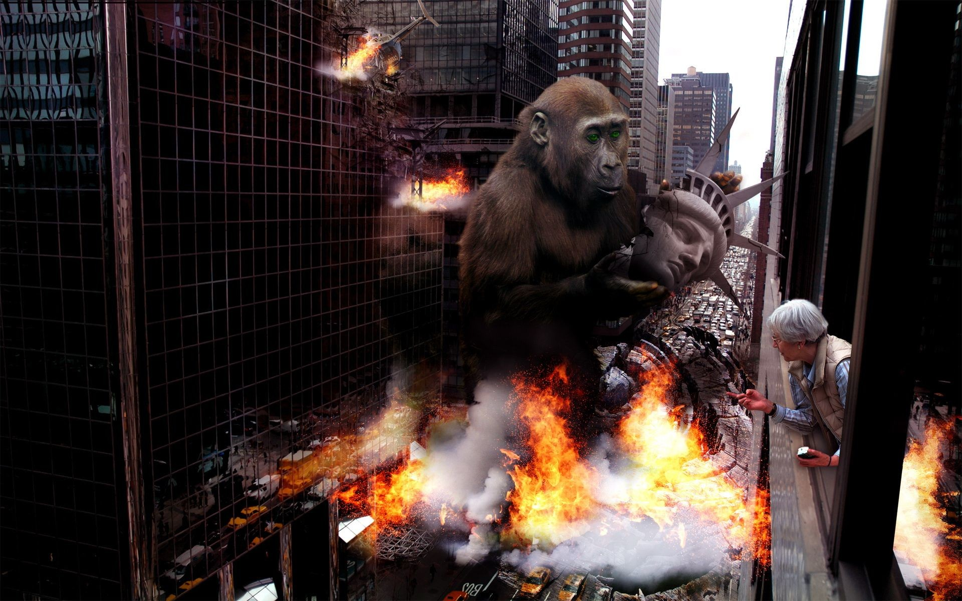 1920x1200 King Kong | HD 3D and Abstract Wallpaper Free Download ...