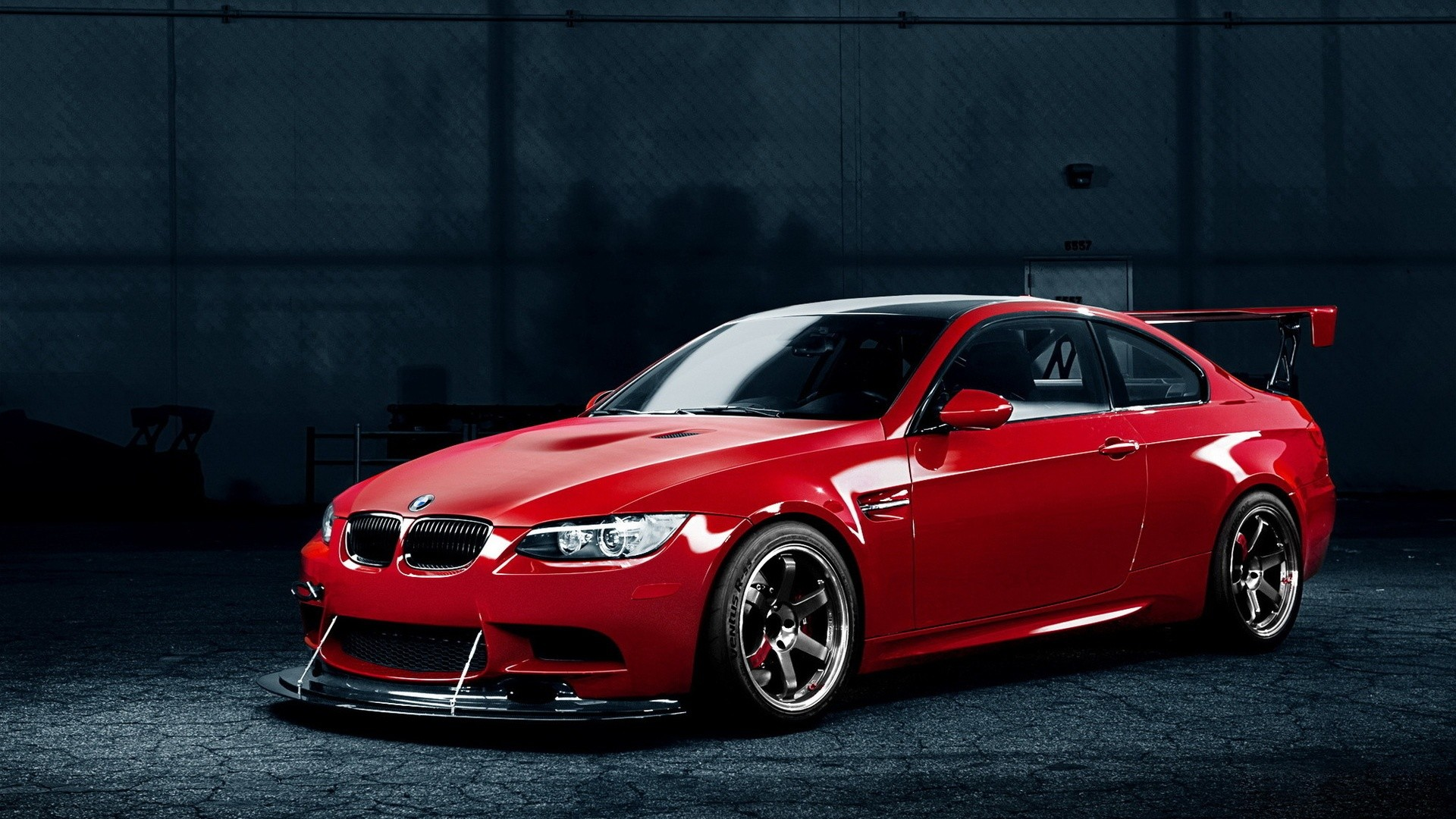 1920x1080 bmw m red