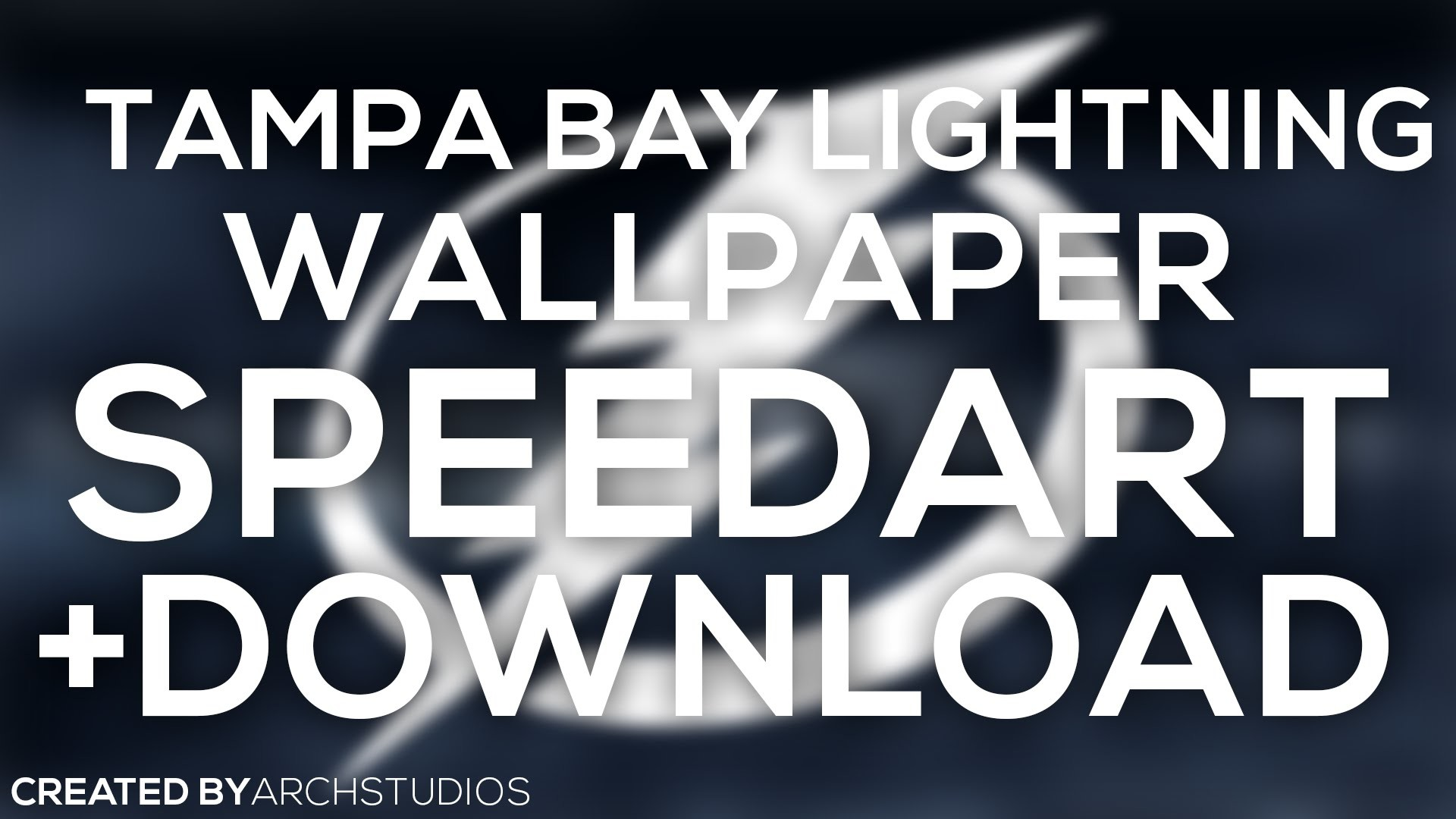 1920x1080 SPEEDART: Tampa Bay Lightning Wallpaper