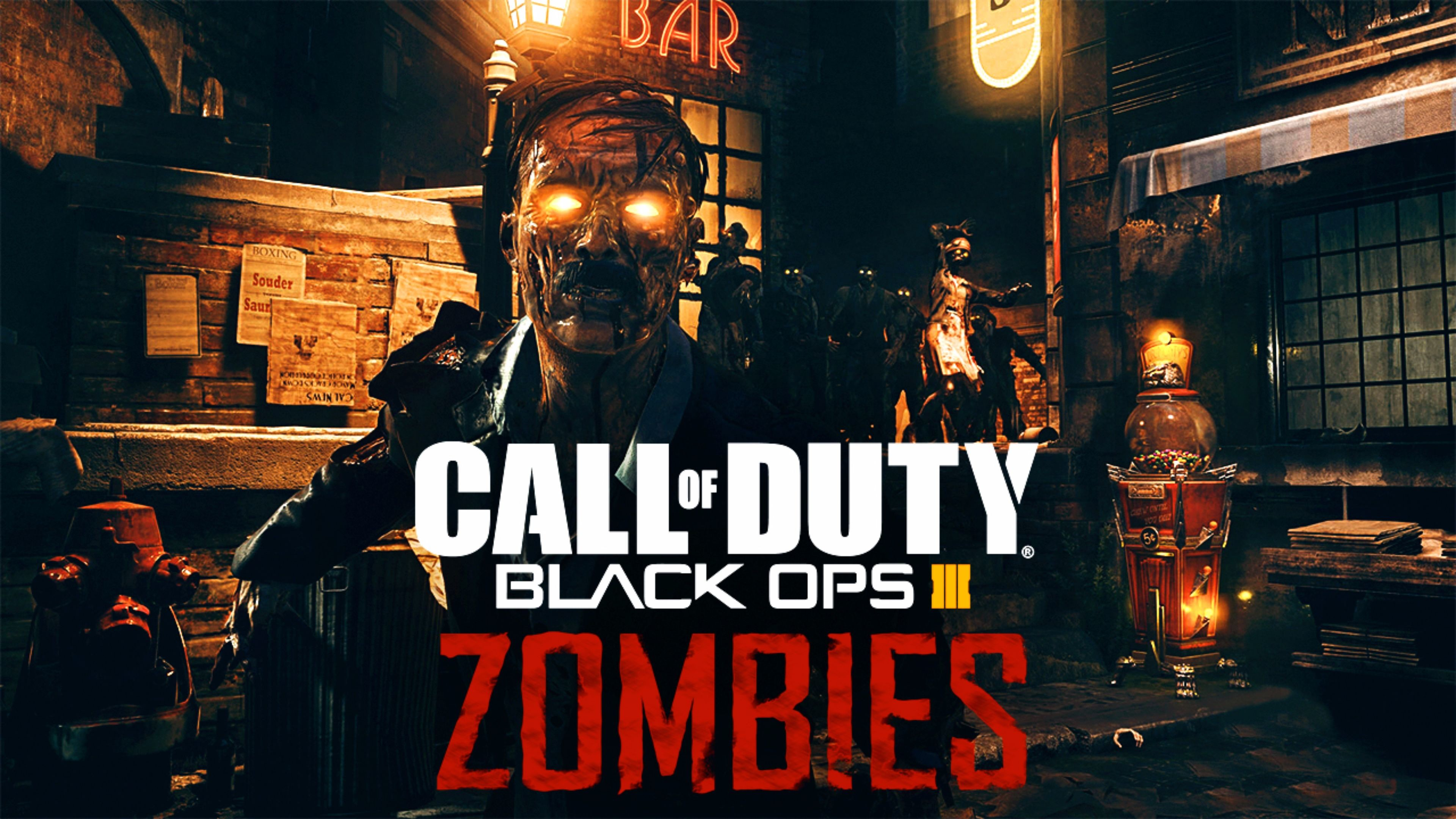 3840x2160 Top Zombies 2016 Call of Duty Black Ops 3 4K Wallpaper