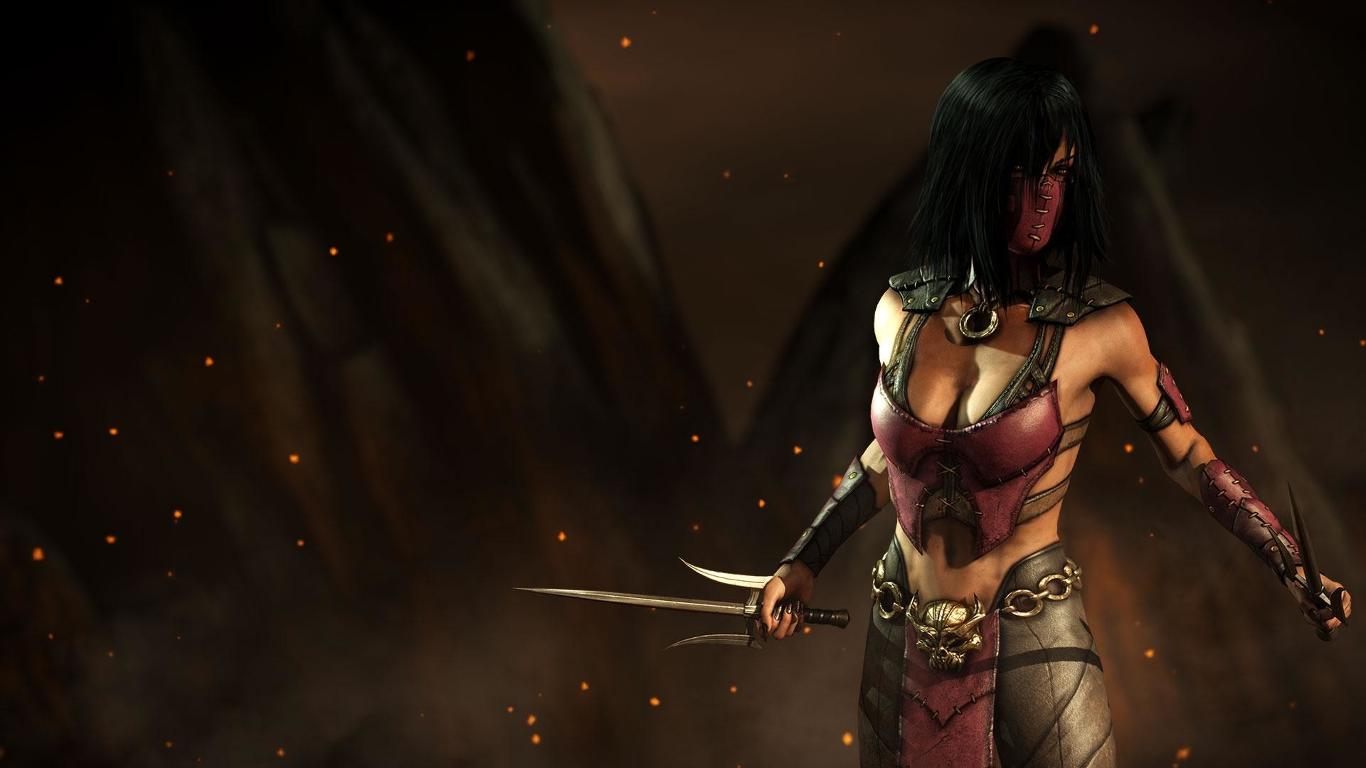 1920x1080 Mortal Kombat X - Johnny Cage and Mileena renders / Character bios - NeoGAF