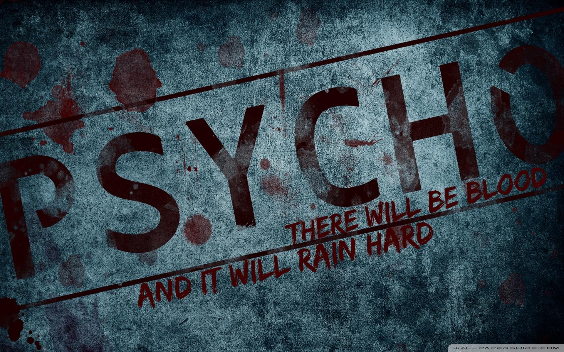 Psycho Wallpaper (77+ images)