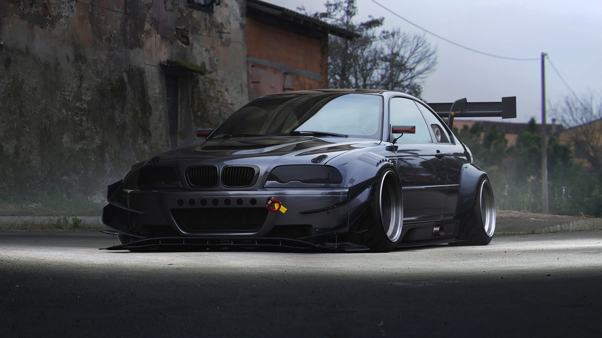 1920x1080 Bmw M3 Wallpaper 1920×1080 With Download E46 Side View Full Hd Hdtv 4