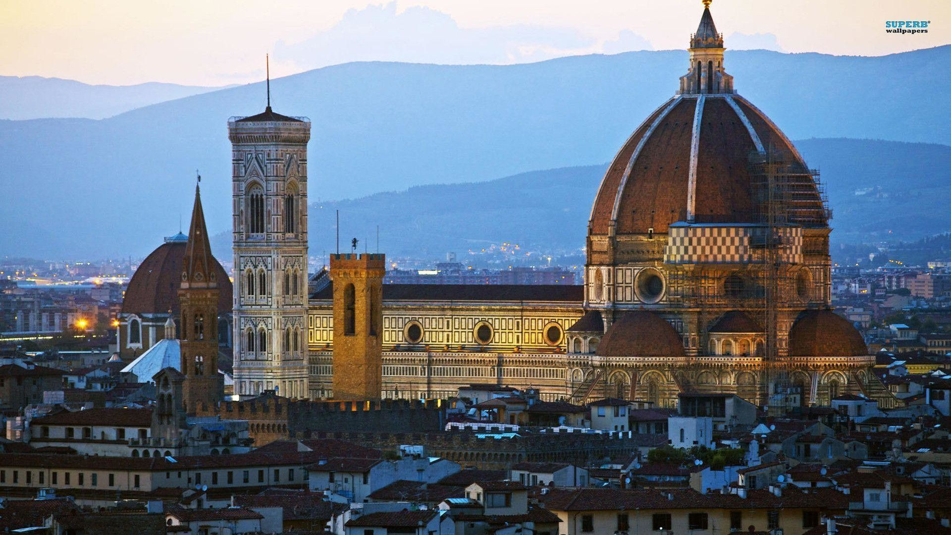 1920x1080 Florence Cathedral In Tuscany Wallpaper  | Hot HD Wallpaper