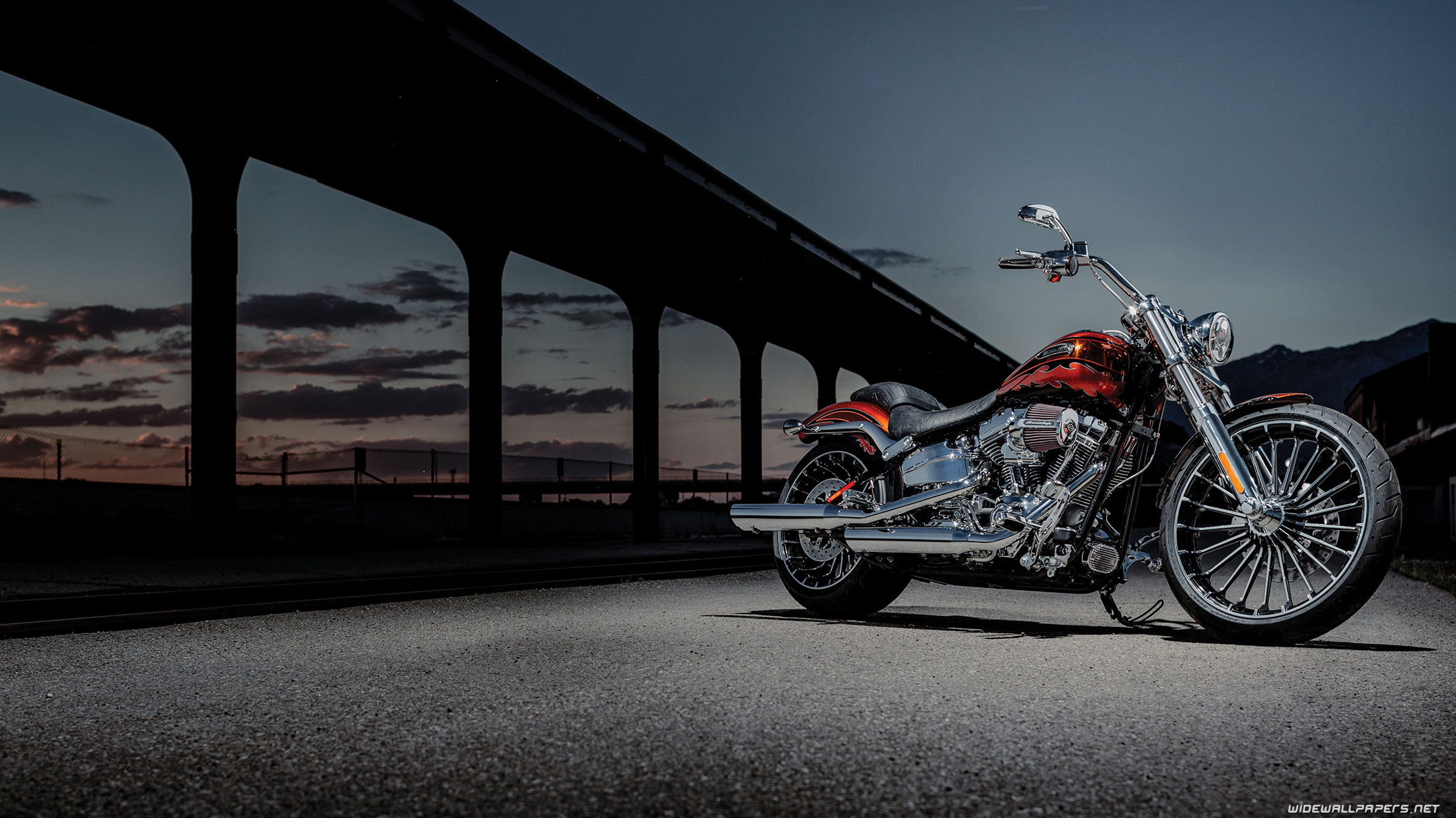 3840x2160 Harley Davidson Wallpaper Desktop