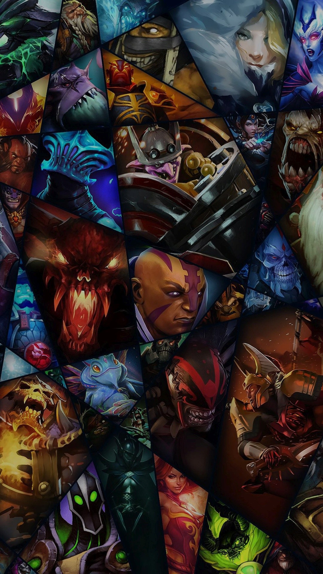 1080x1920 DOTA Game Characters IPhone 6+ HD Wallpaper
