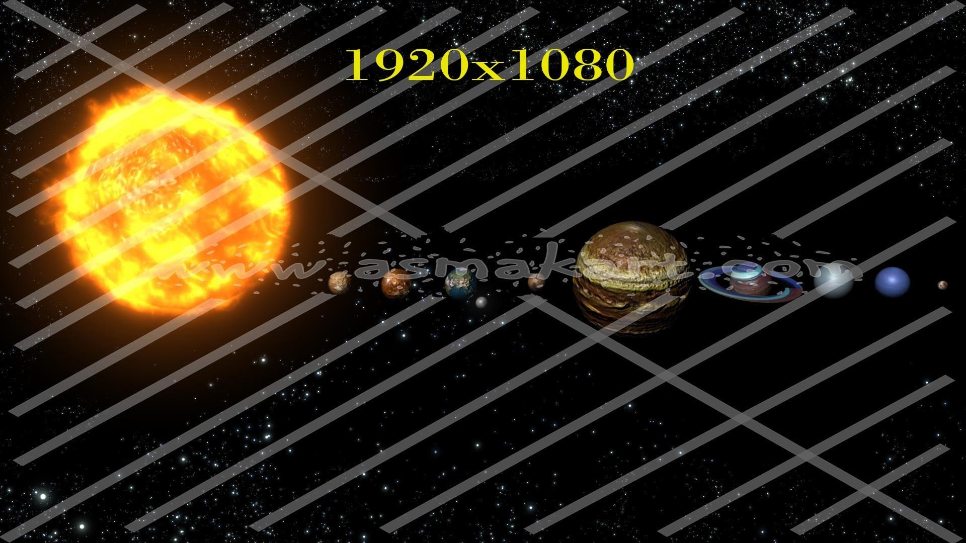 1920x1080 Solar System Wallpaper Download 2000x1200