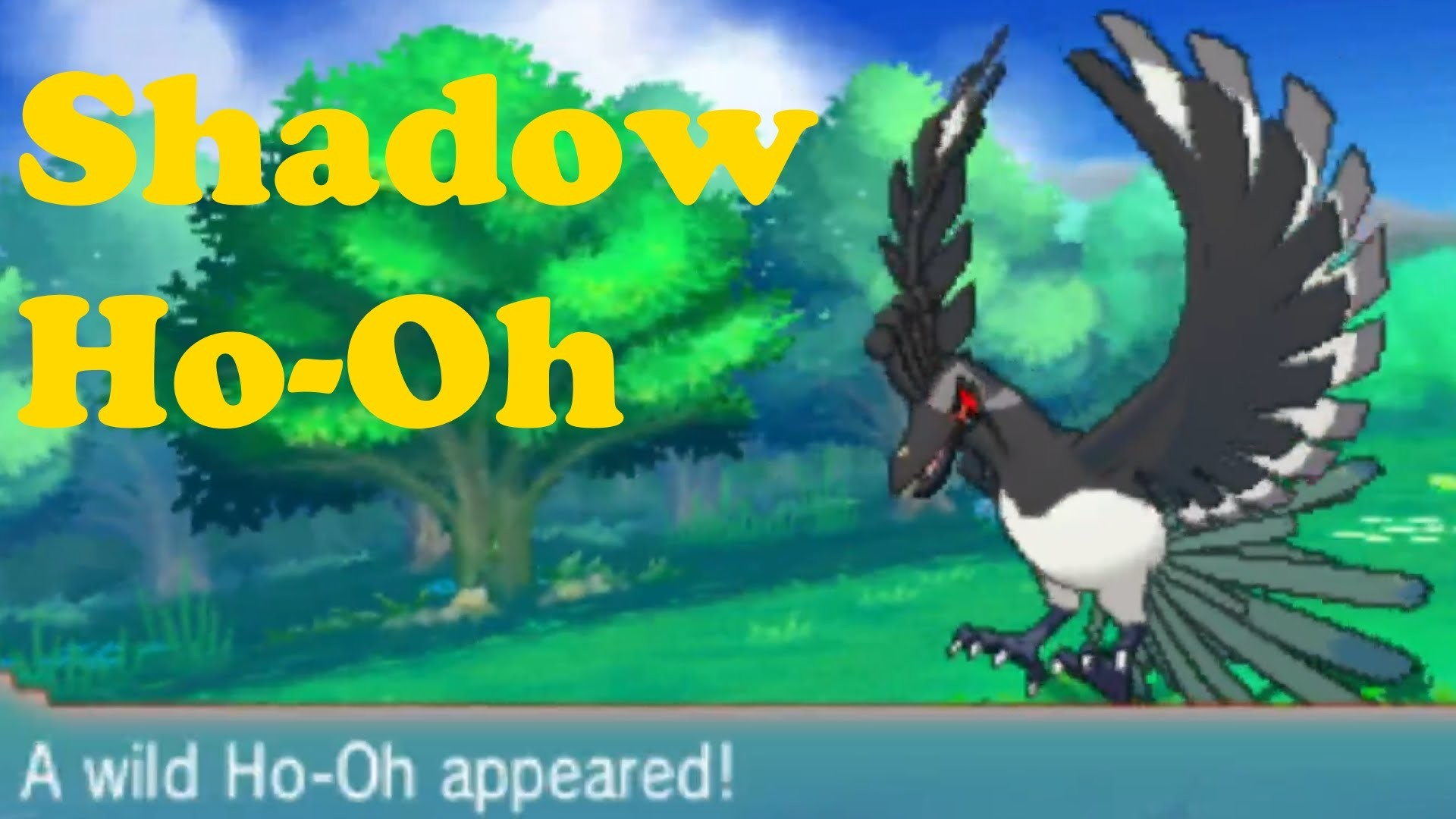 1920x1080 Shadow Ho-oH in Pokemon Omega Ruby and Alpha Sapphire ROM HACK - YouTube