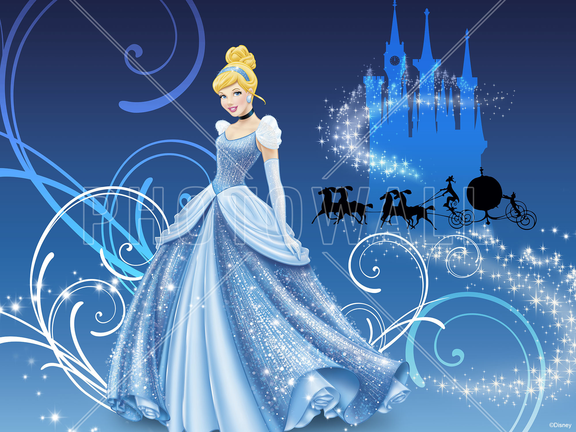 Frame Wall Stickers Cinderella Wallpaper 74 Images
