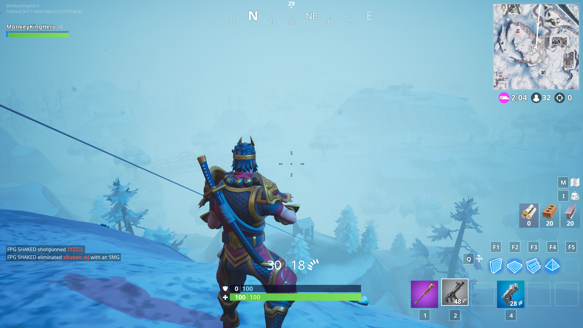 1920x1080 Ice Storm challenges are now available in Fortnite