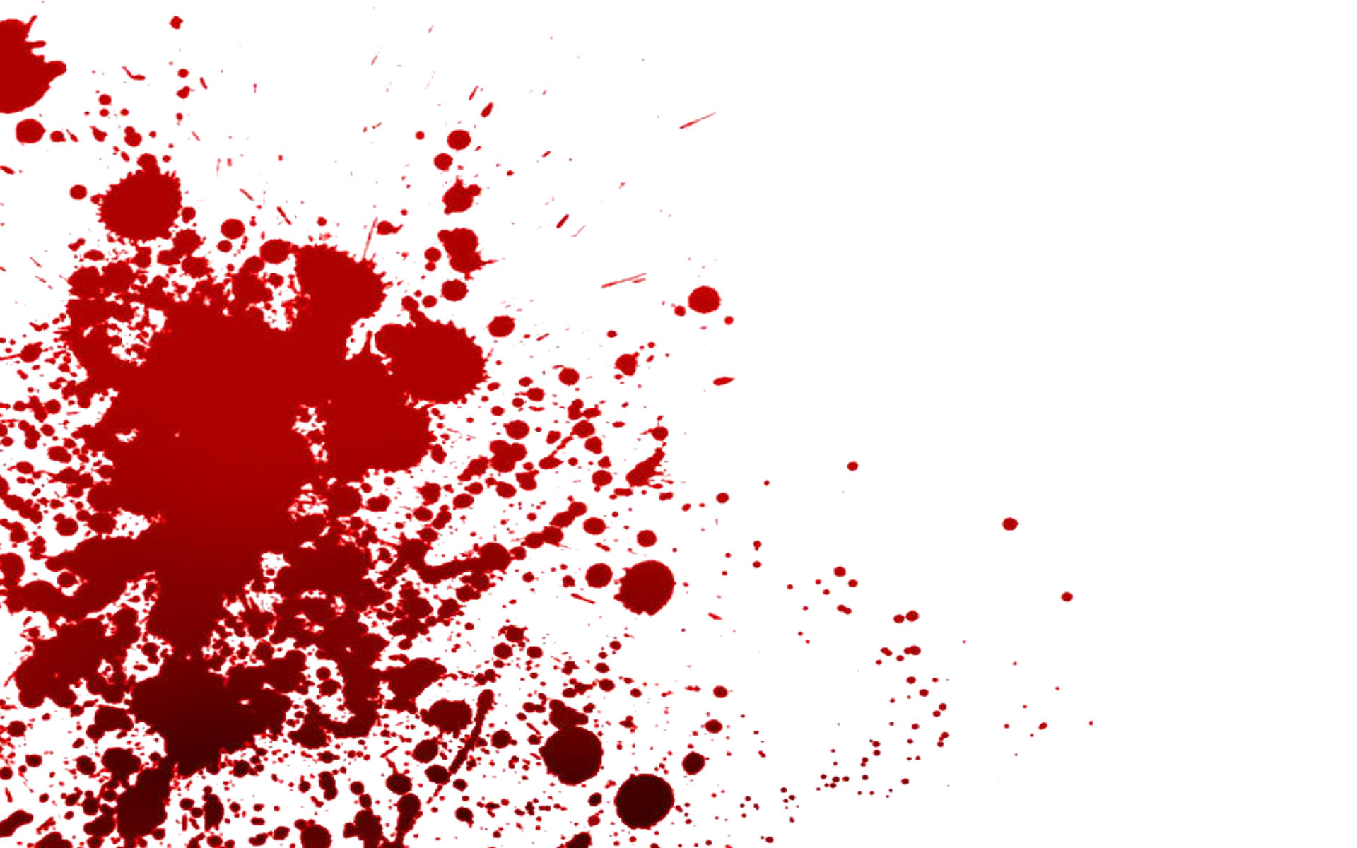 blood splattering