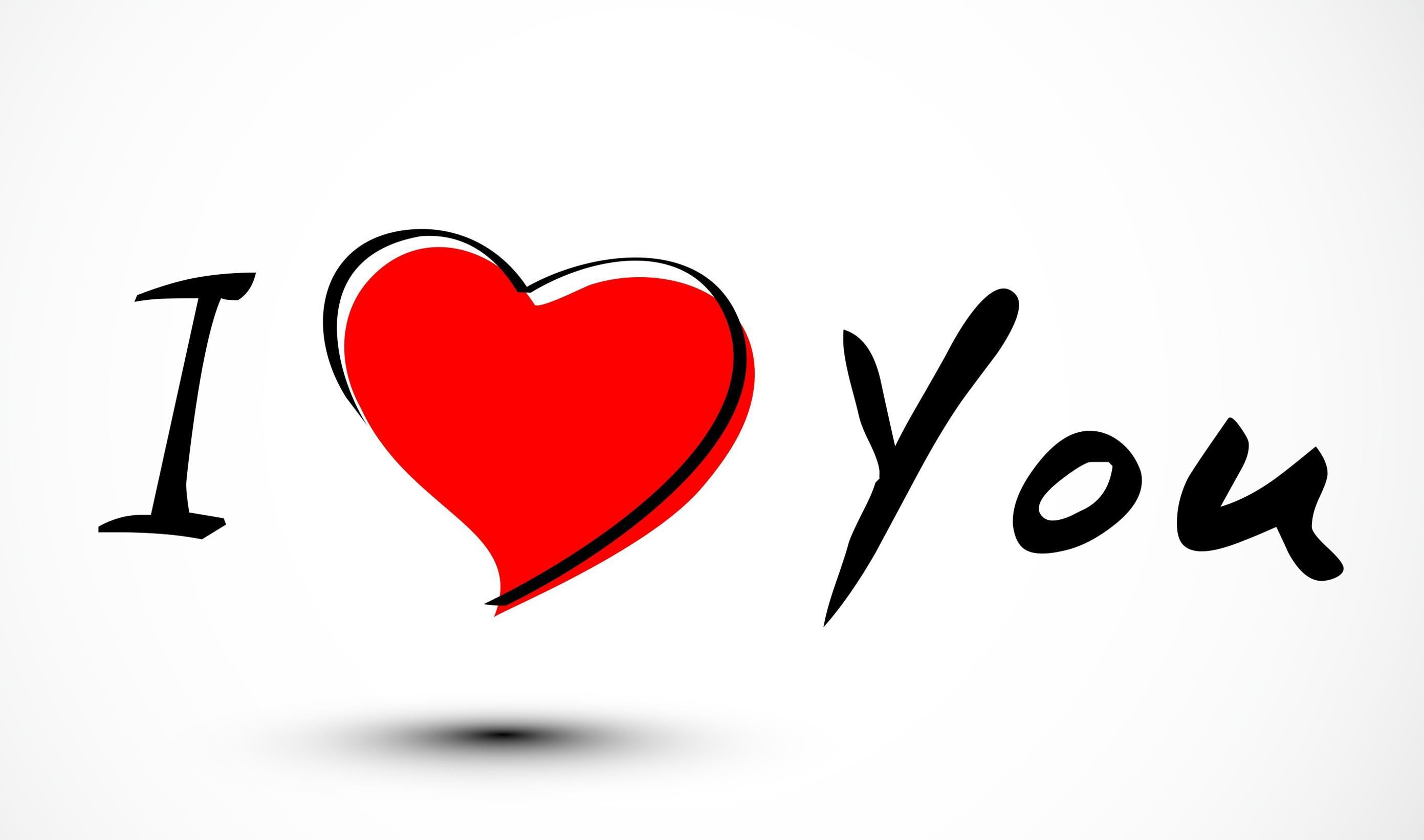2783x1642 I Love You Computer Wallpaper