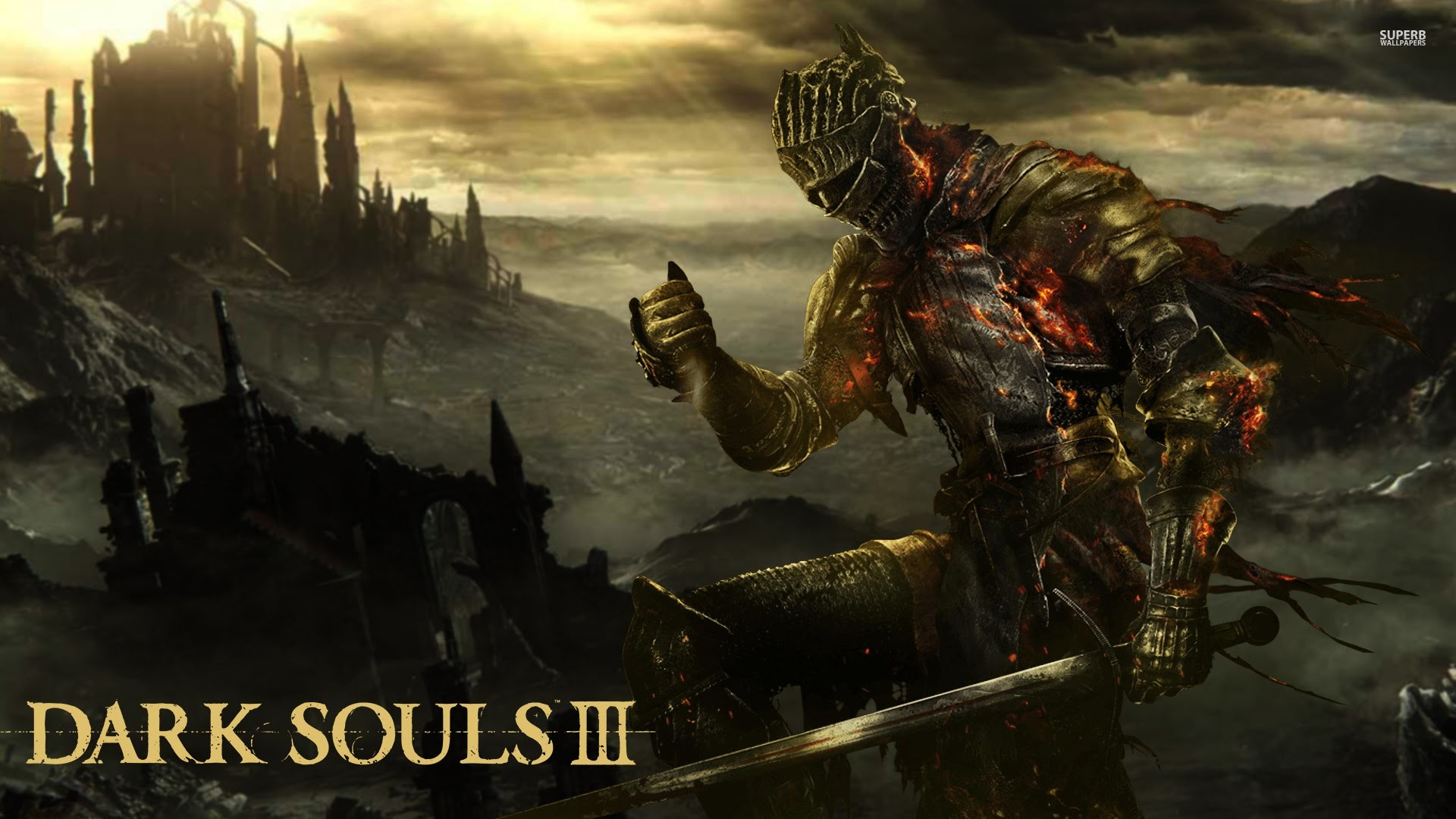 1920x1080 Dark Souls Live Wallpaper