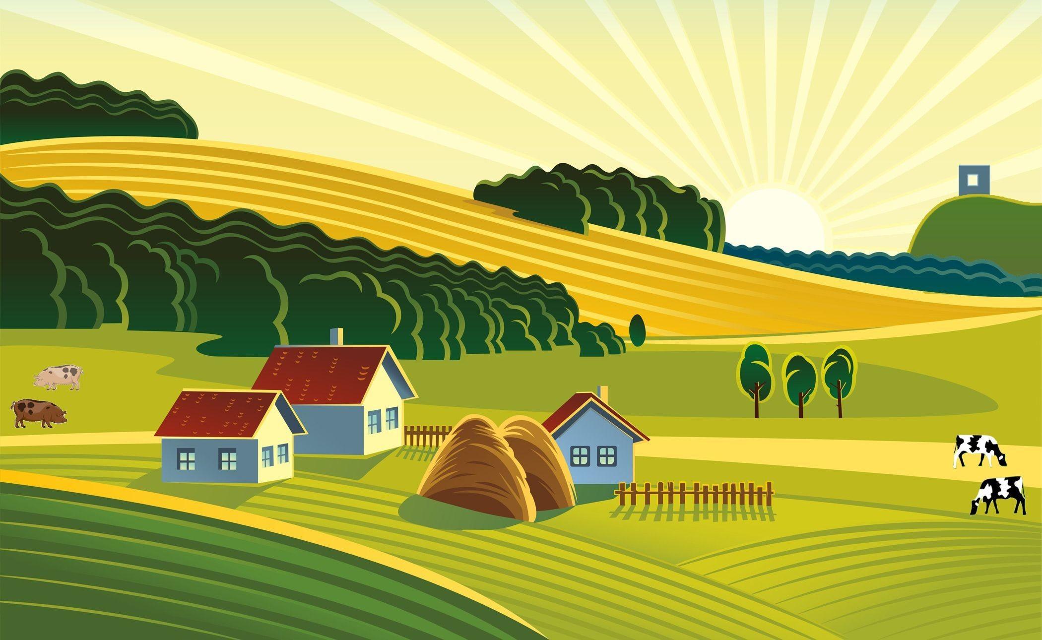 Farm Background Pictures (32+ images)  Farm Clipart