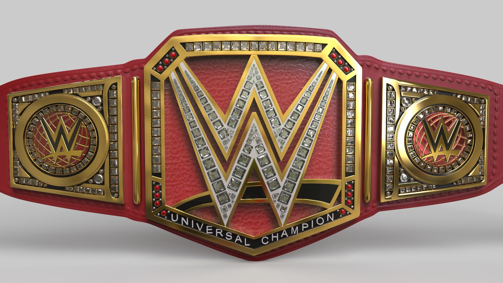 1920x1080 WWE Universal Championship - Front