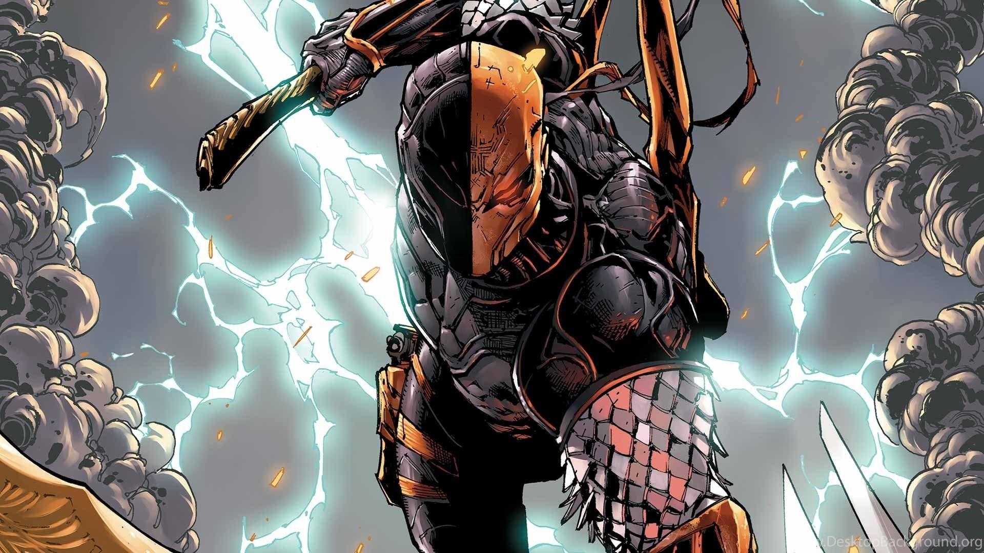 2048x2048 Preview Wallpaper Batman Arkham Origins Deathstroke Warner Bros Games Montreal Dc Comics