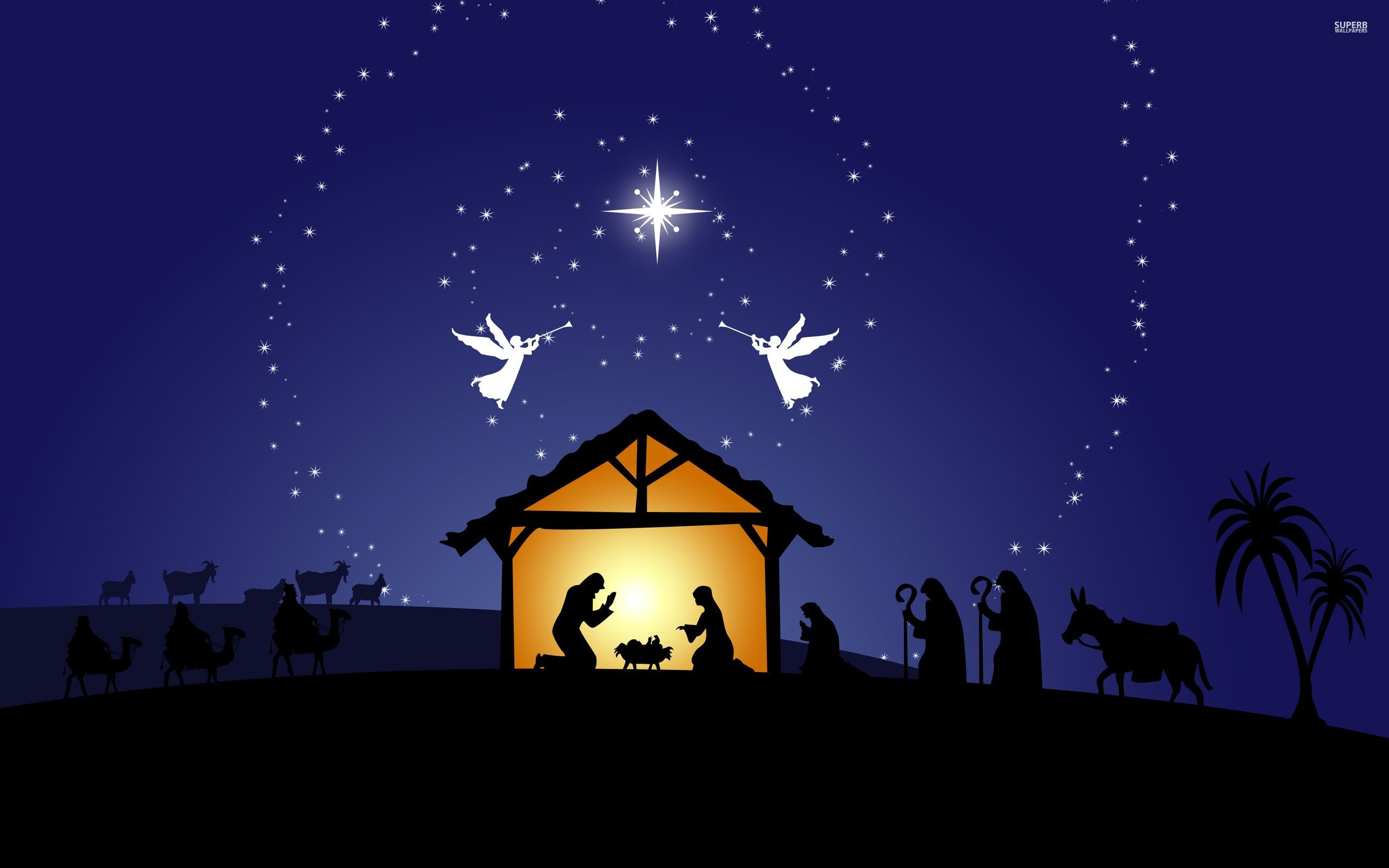 christmas nativity scene wallpaper  59  images