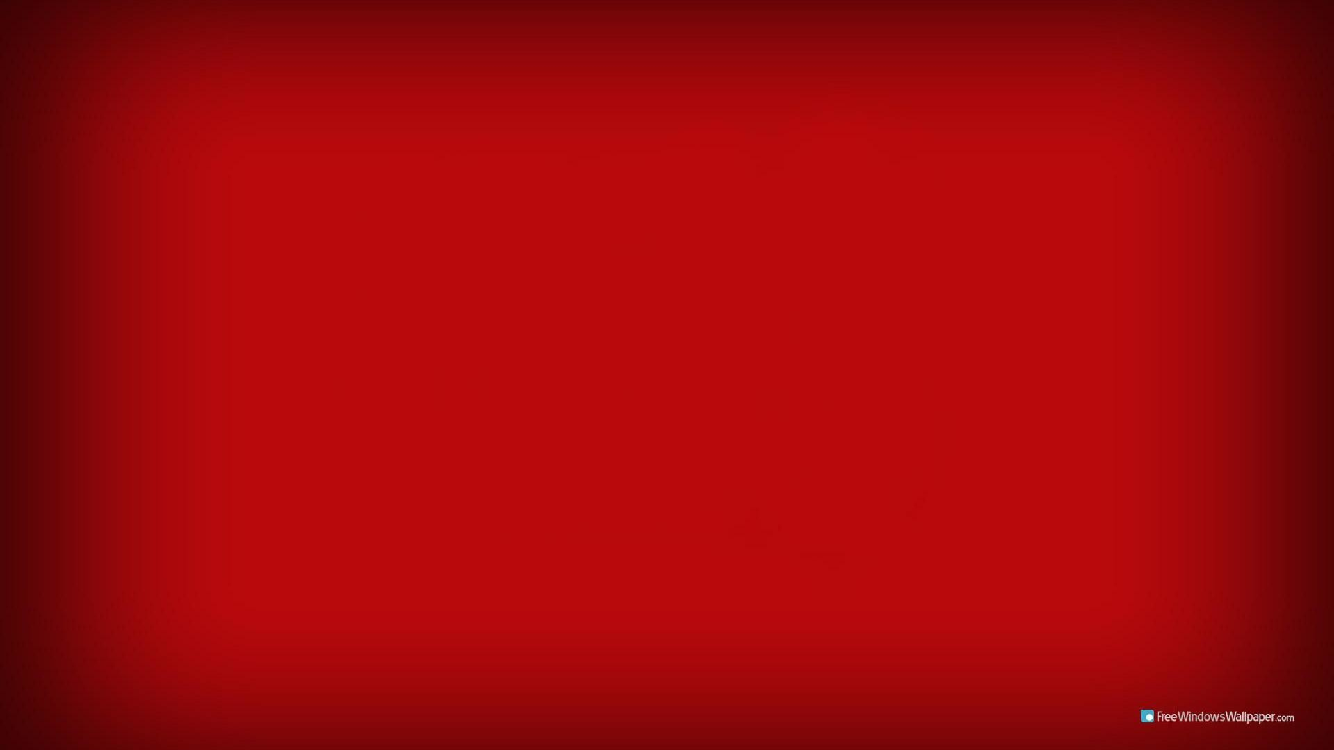 1920x1080 Solid Red Wallpaper