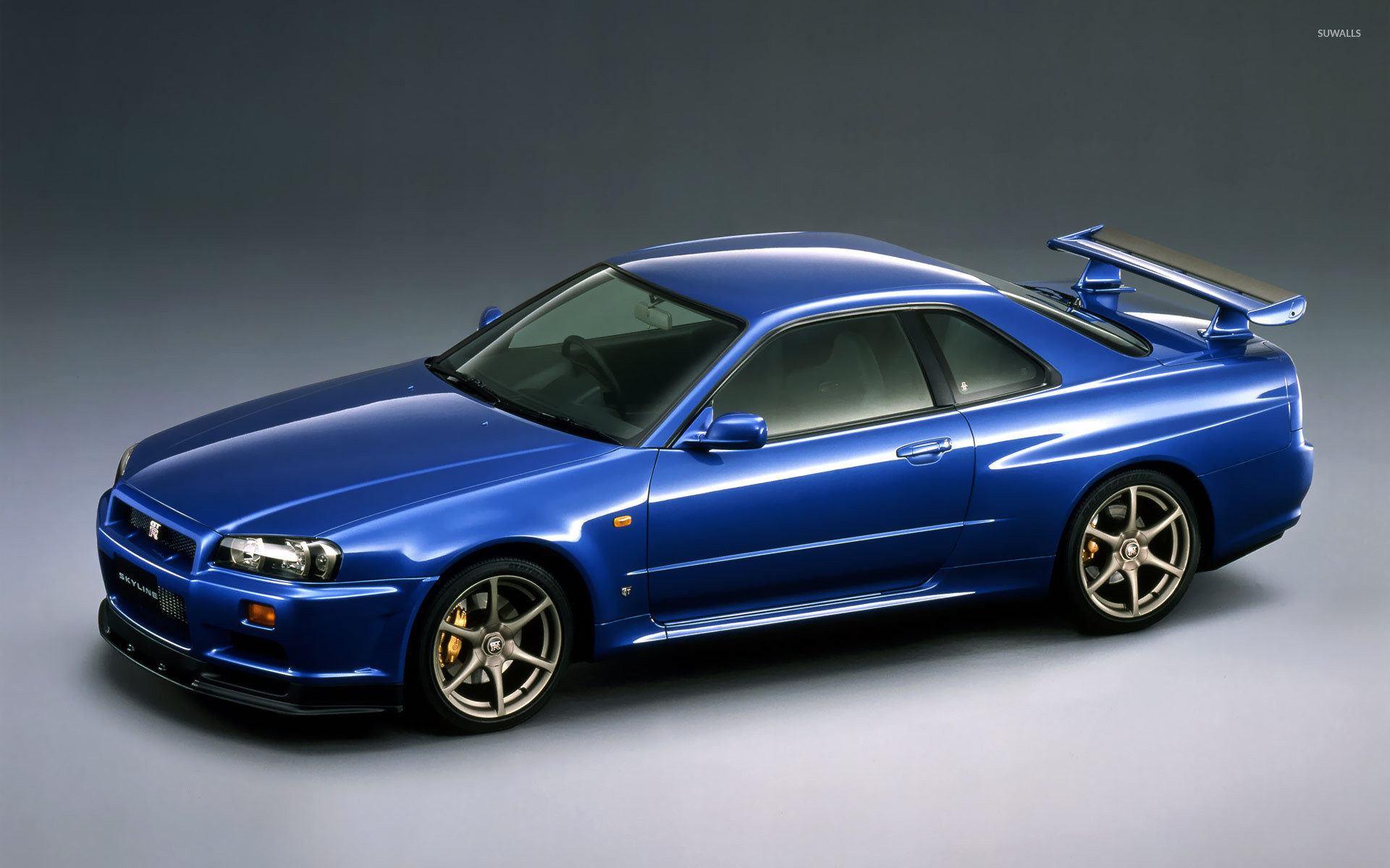 1920x1200 Nissan Skyline GT-R V-spec R34 wallpaper  jpg
