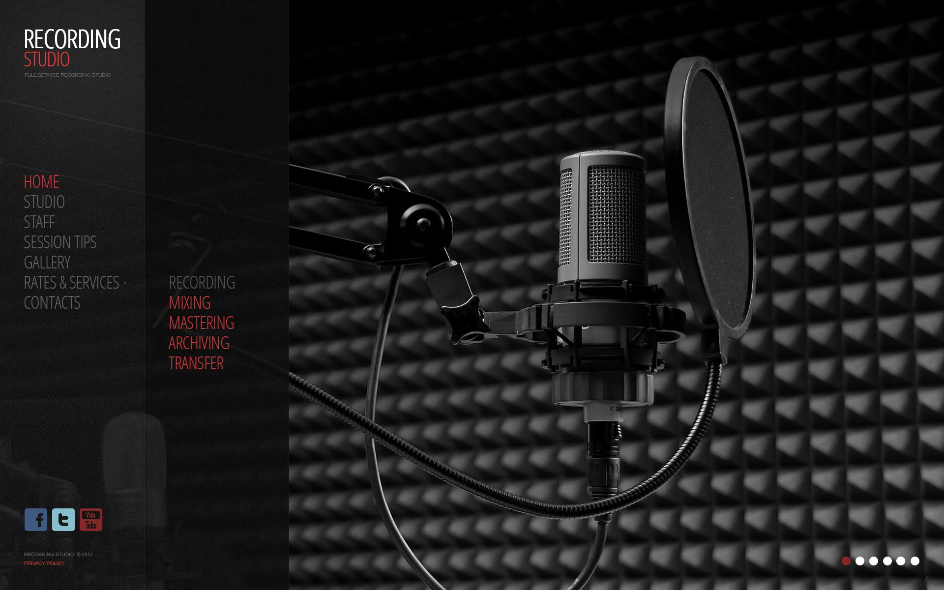 HD Recording Studio Wallpaper (70+ Images