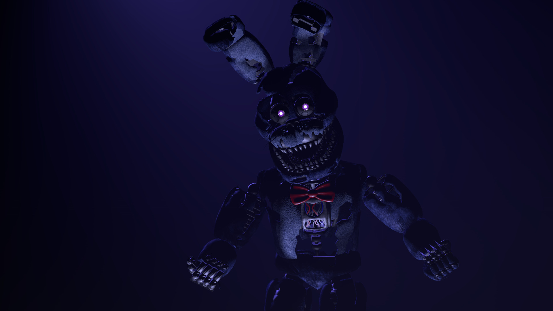 1920x1080 FNAF Nightmare Bonnie HD Wallpapers Free Download » Unique High Resolution  Wallpapers