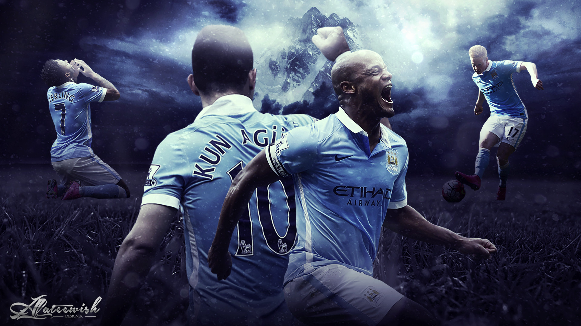 Manchester City Fc Wallpaper: Manchester City IPhone Wallpaper (74+ Images