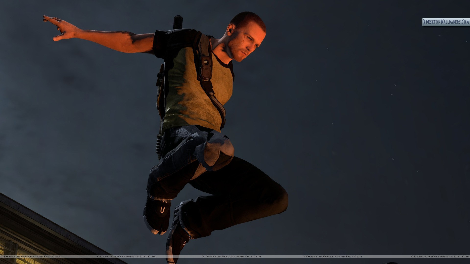 "1920x1080 You are viewing wallpaper titled ""inFAMOUS 2 ..."