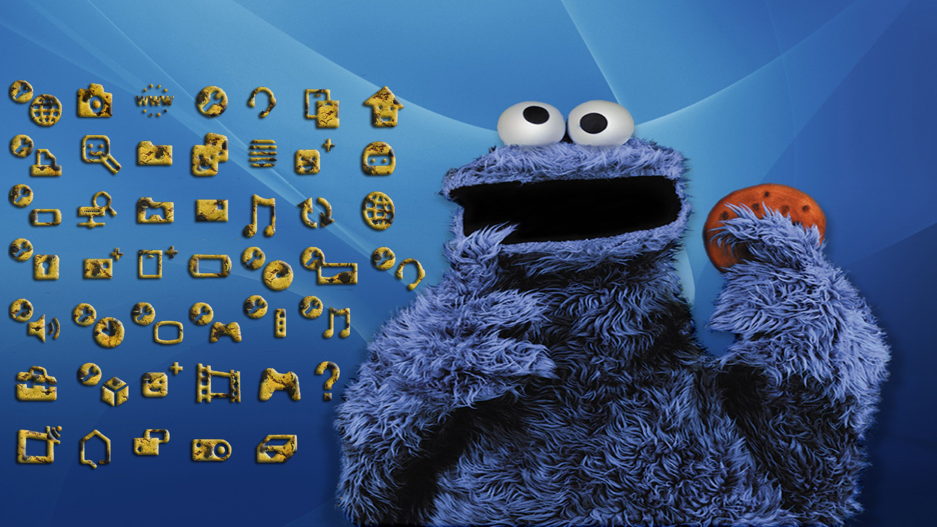 Cute cookie monster wallpaper 58 images - Cookie monster wallpaper ...