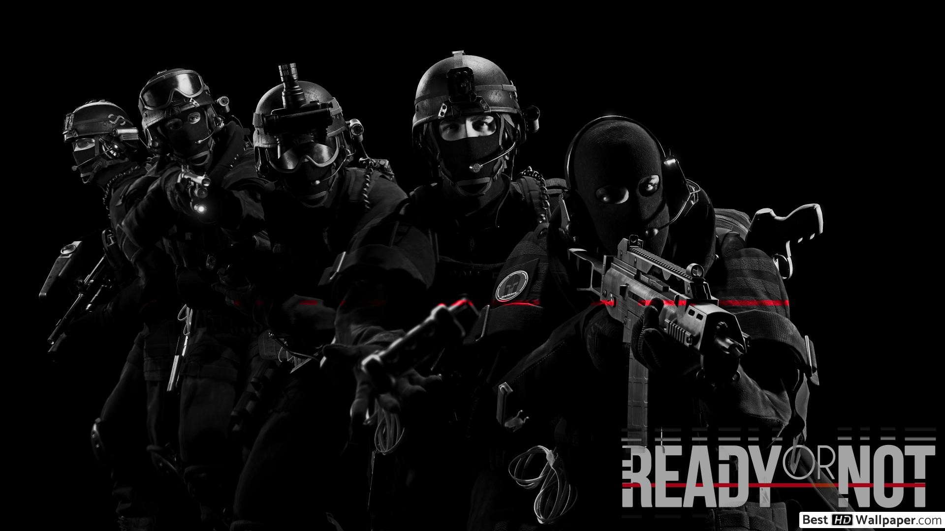 1920x1080 Download Ready or not - swat wallpaper