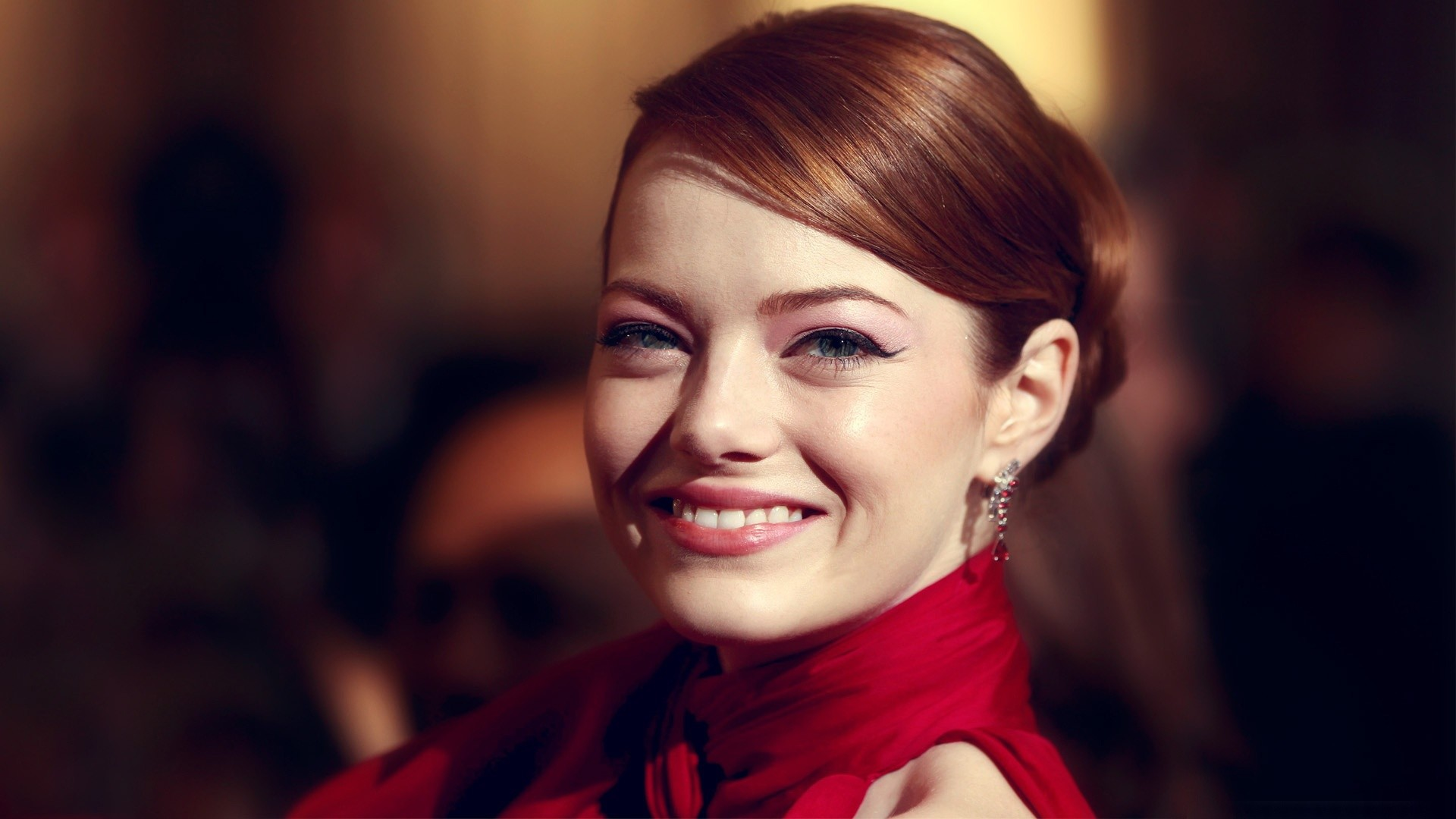 1920x1080 emma stone beautiful smile at the 84th academy awards
