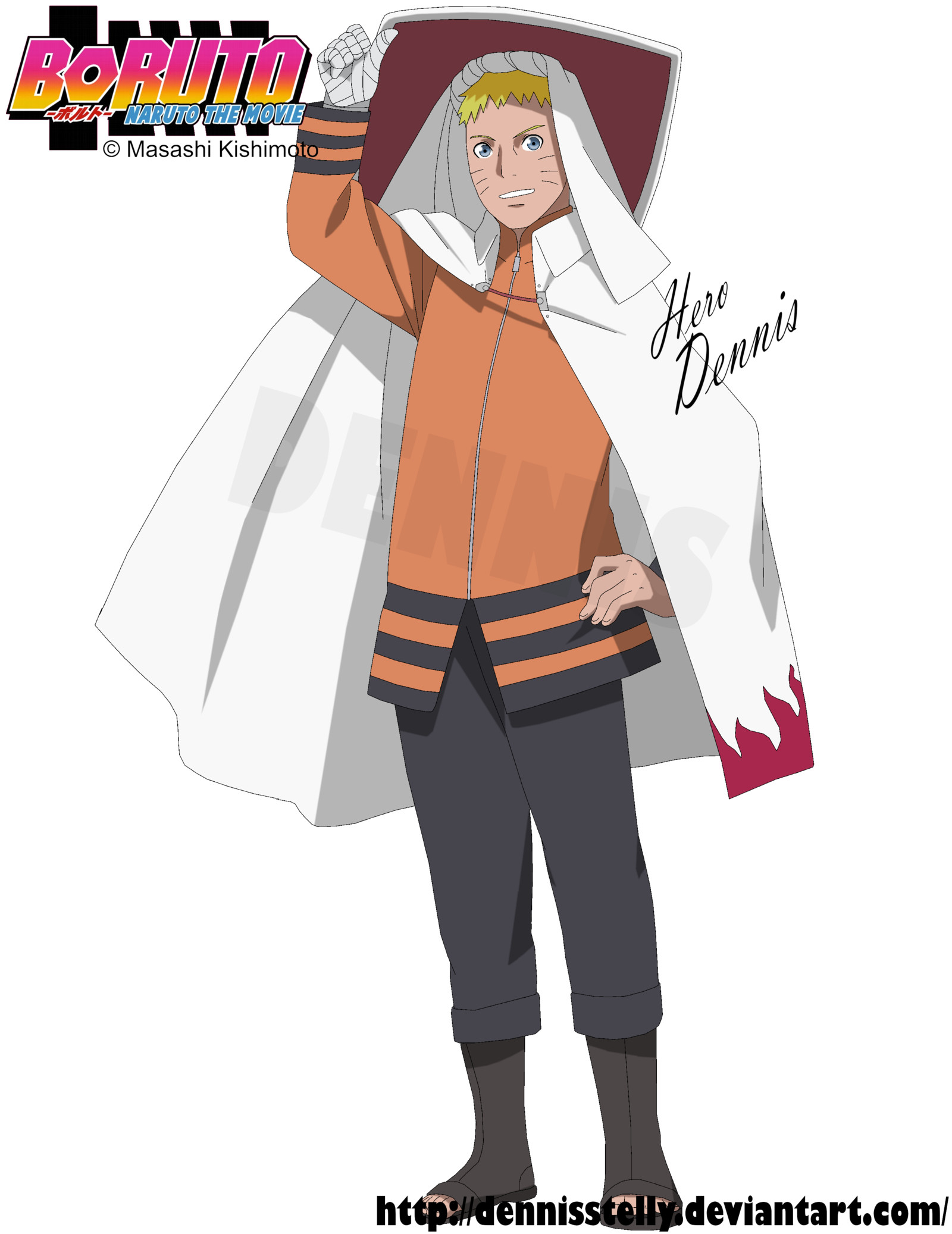 1600x2074 Uzumaki Naruto - Boruto the Movie by DennisStelly on DeviantArt
