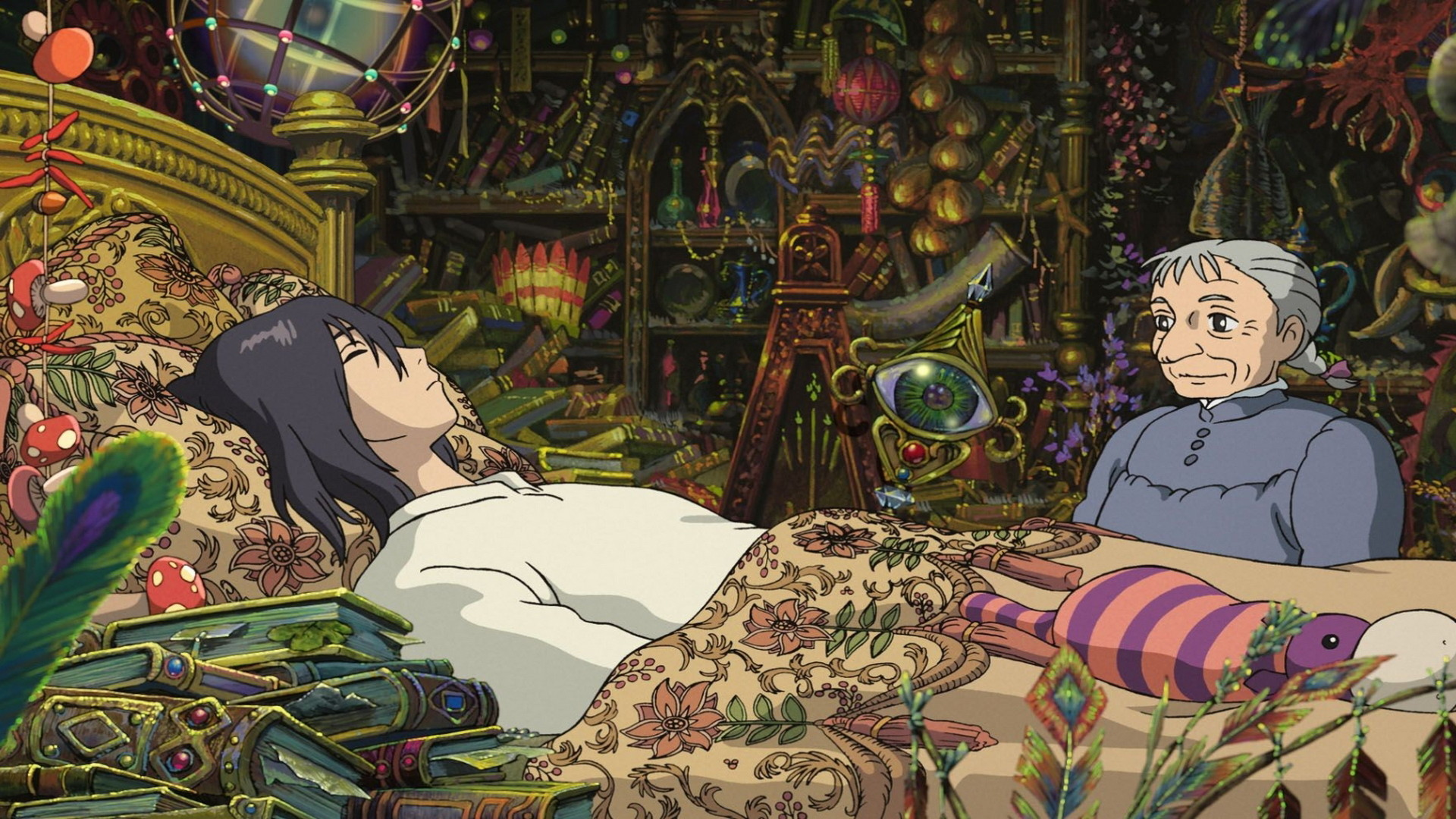 1920x1080 howl's+moving+castle | Howls Moving Castle Wallpaper Hd 3 | HD Desktop  Wallpapers
