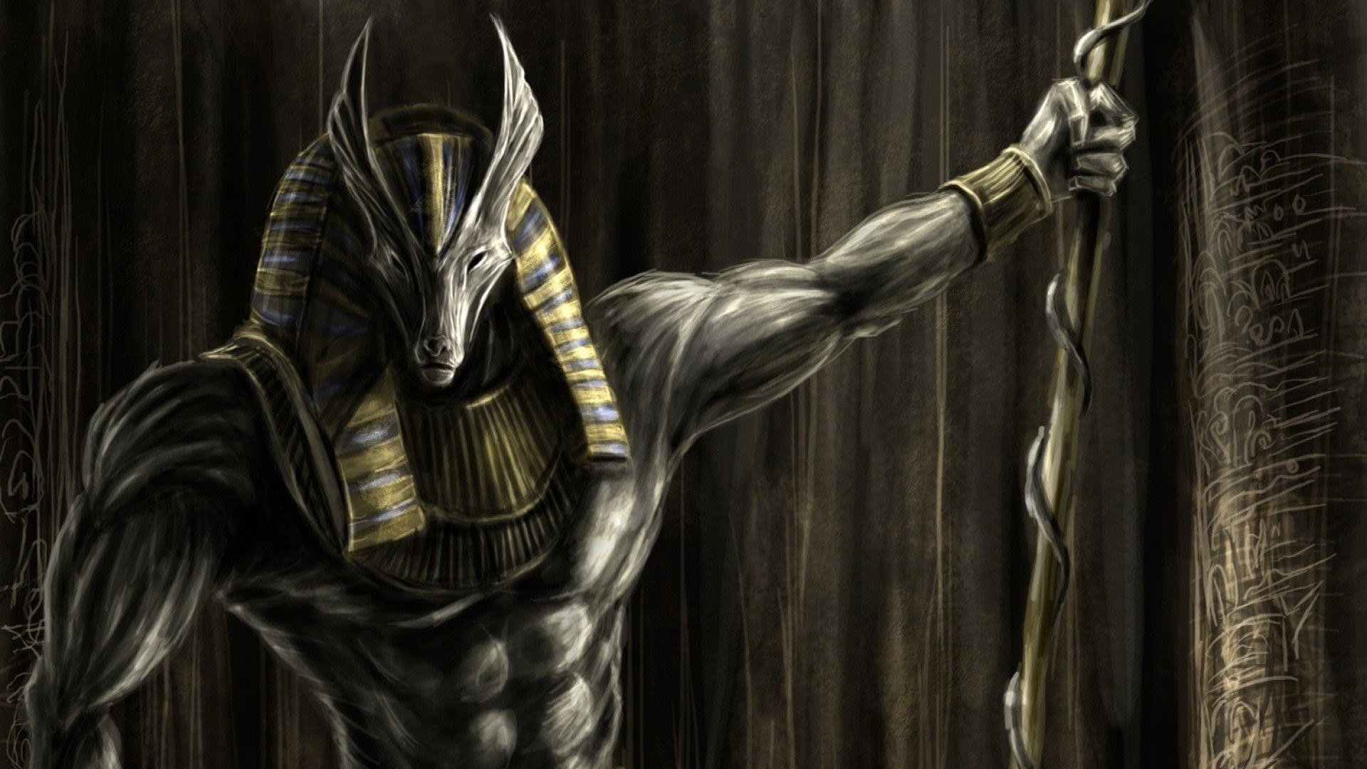 Anubis Egyptian God Wallpaper (61+ images)