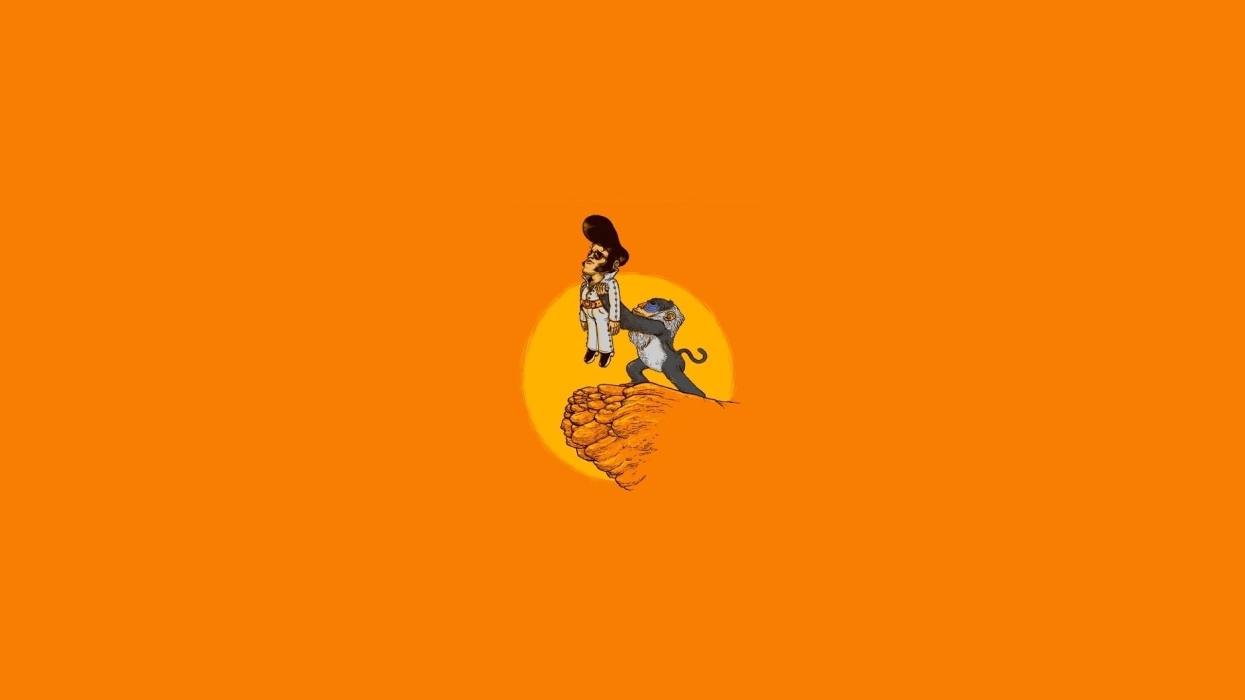 Solid Orange Wallpaper Download